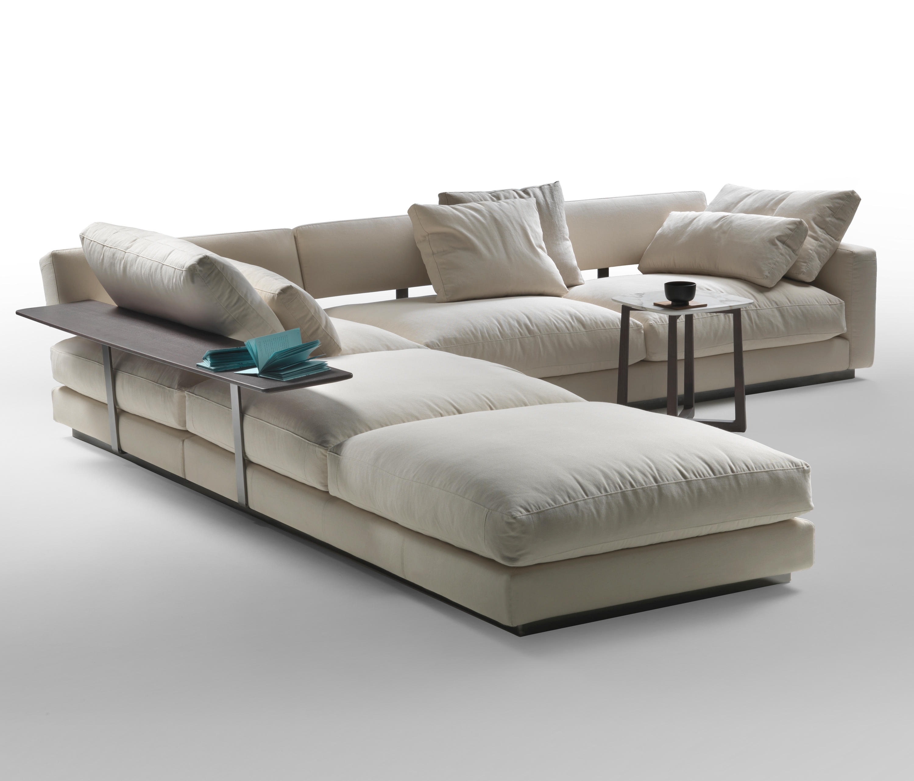 Newest Pleasure Sectional Sofa – Modular Seating Systems From Flexform Throughout St Louis Sectional Sofas (View 2 of 15)