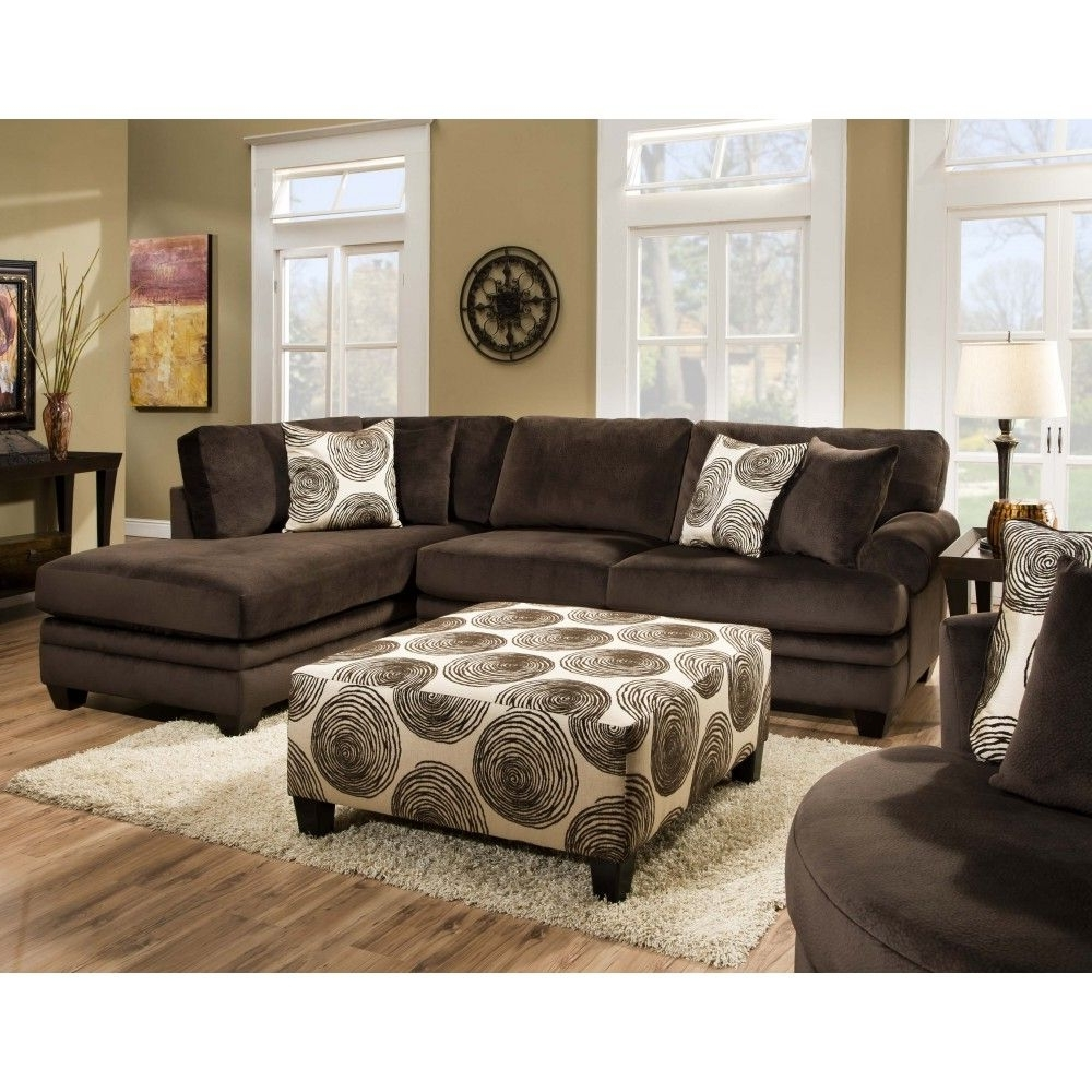 Newest Rayna Sectionalchelsea Home Furniture In Groovy Chocolate/big With Regard To Portland Or Sectional Sofas (View 9 of 15)