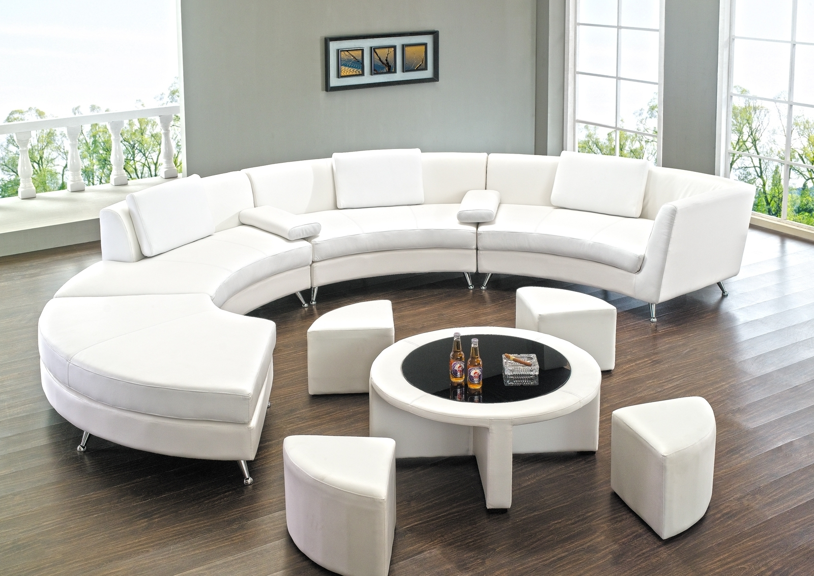 Newest Round Sectional Sofa Has One Of The Best Kind Of Other Is With Regard To Rounded Sofas (View 8 of 15)