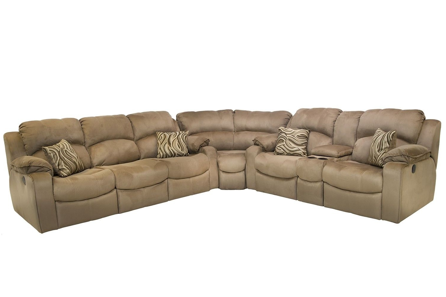 Newest Sofas With Consoles Within Tornado Reclining Sofa & Power Reclining Console Loveseat (View 11 of 15)