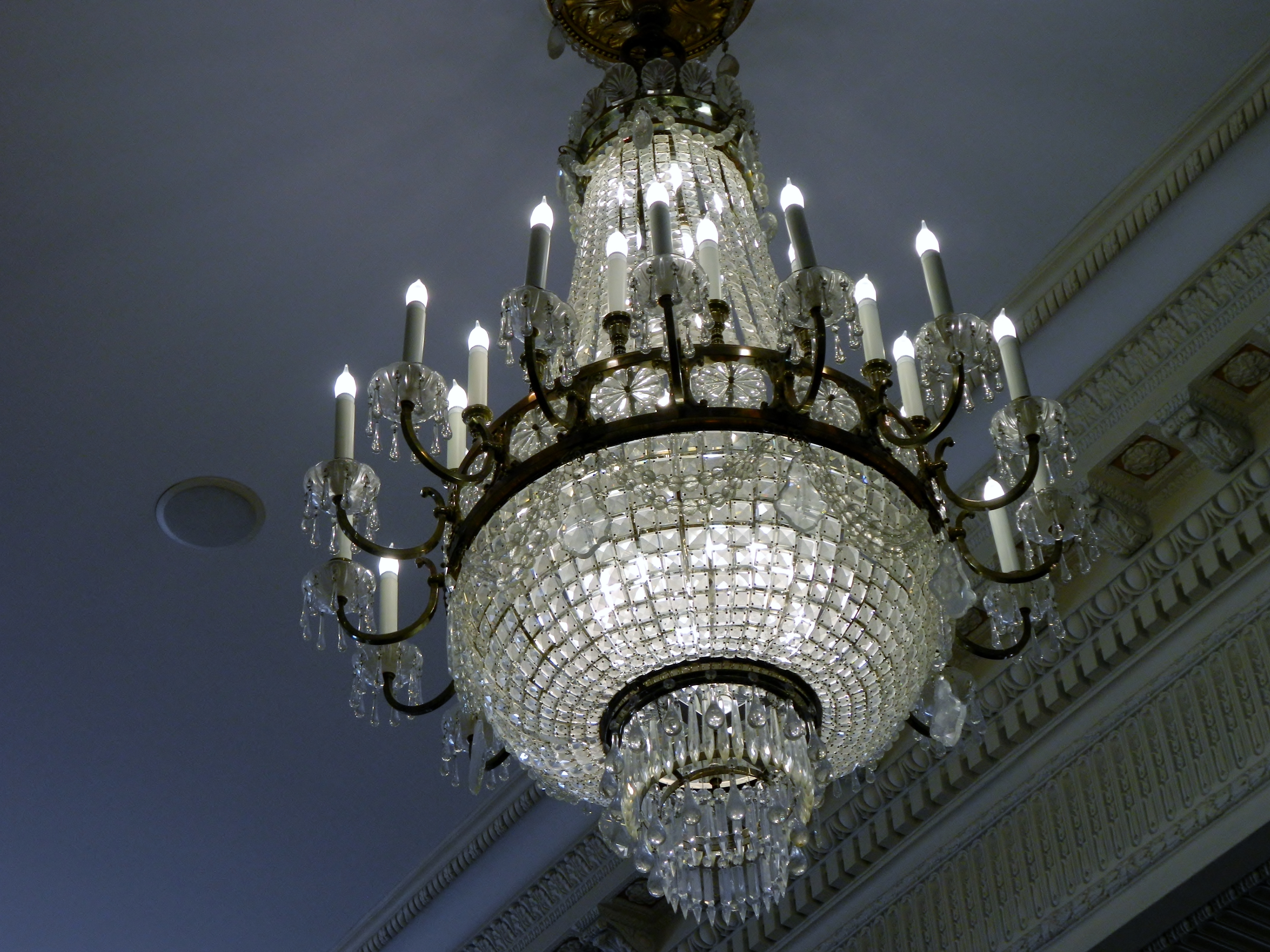 Newest The Davenport Hotel – Traveling The Pnw In Ballroom Chandeliers (View 7 of 15)