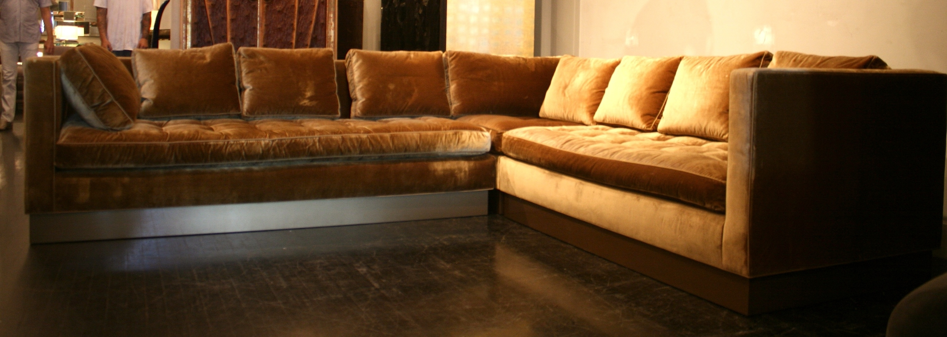 Newest Thomasville Sectional Sofas With Ancient Red Tone Sectional Sofa Bed And Love Seat As Well As Grey (View 6 of 15)