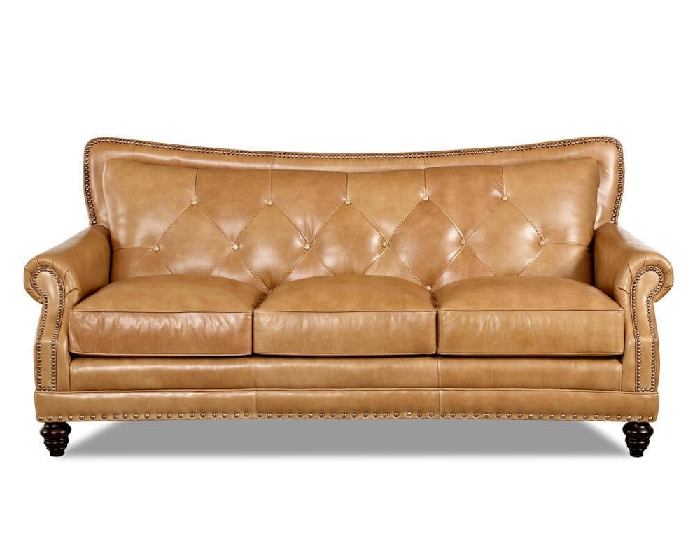 Newest Top Grain Full Aniline Leather Sofas (View 10 of 15)