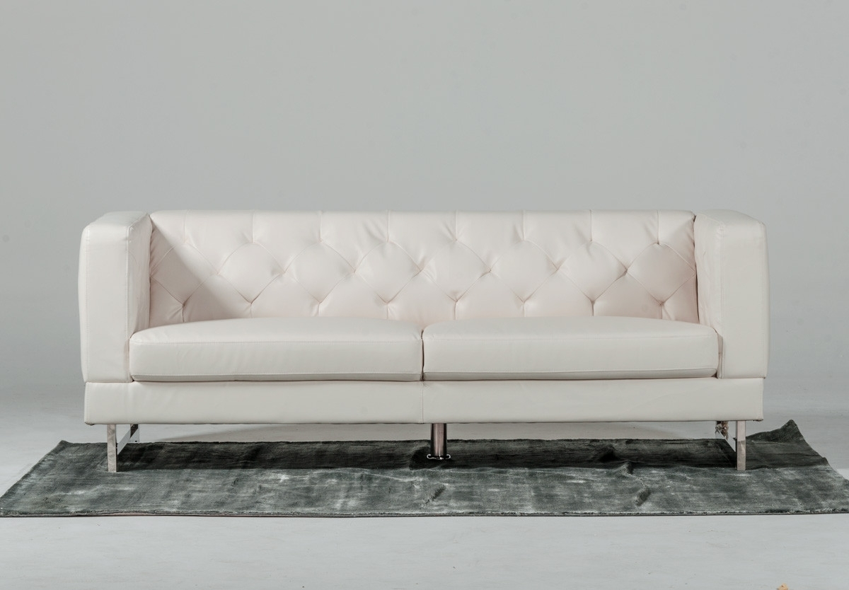 Newest Windsor Italian Design Leatherette Sofa Set Regarding Windsor Sofas (View 6 of 15)