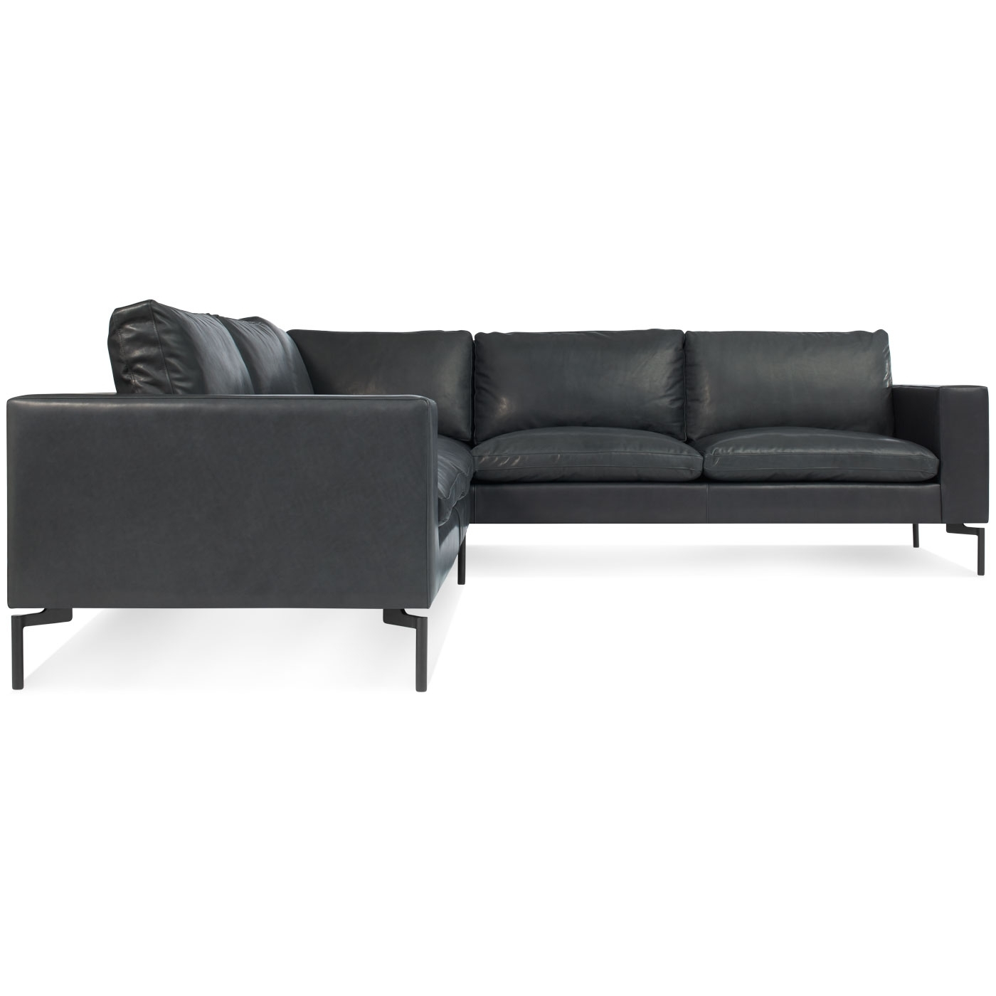 Newfoundland Sectional Sofas Inside Best And Newest New Standard Small Leather Sectional – Modern Leather Sofa (View 10 of 15)