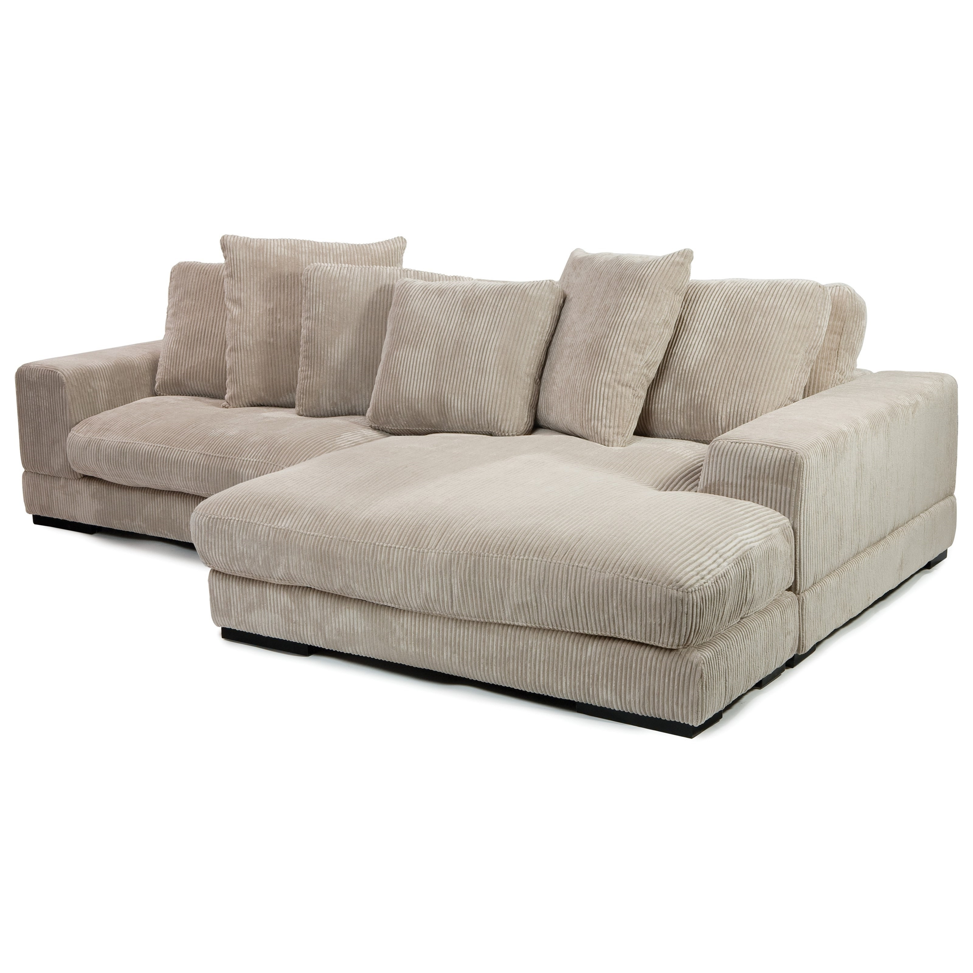 Niagara Sectional Sofas Throughout Favorite Moe's Home Collection Plunge Sectional With Flip Style Chaise (View 10 of 15)