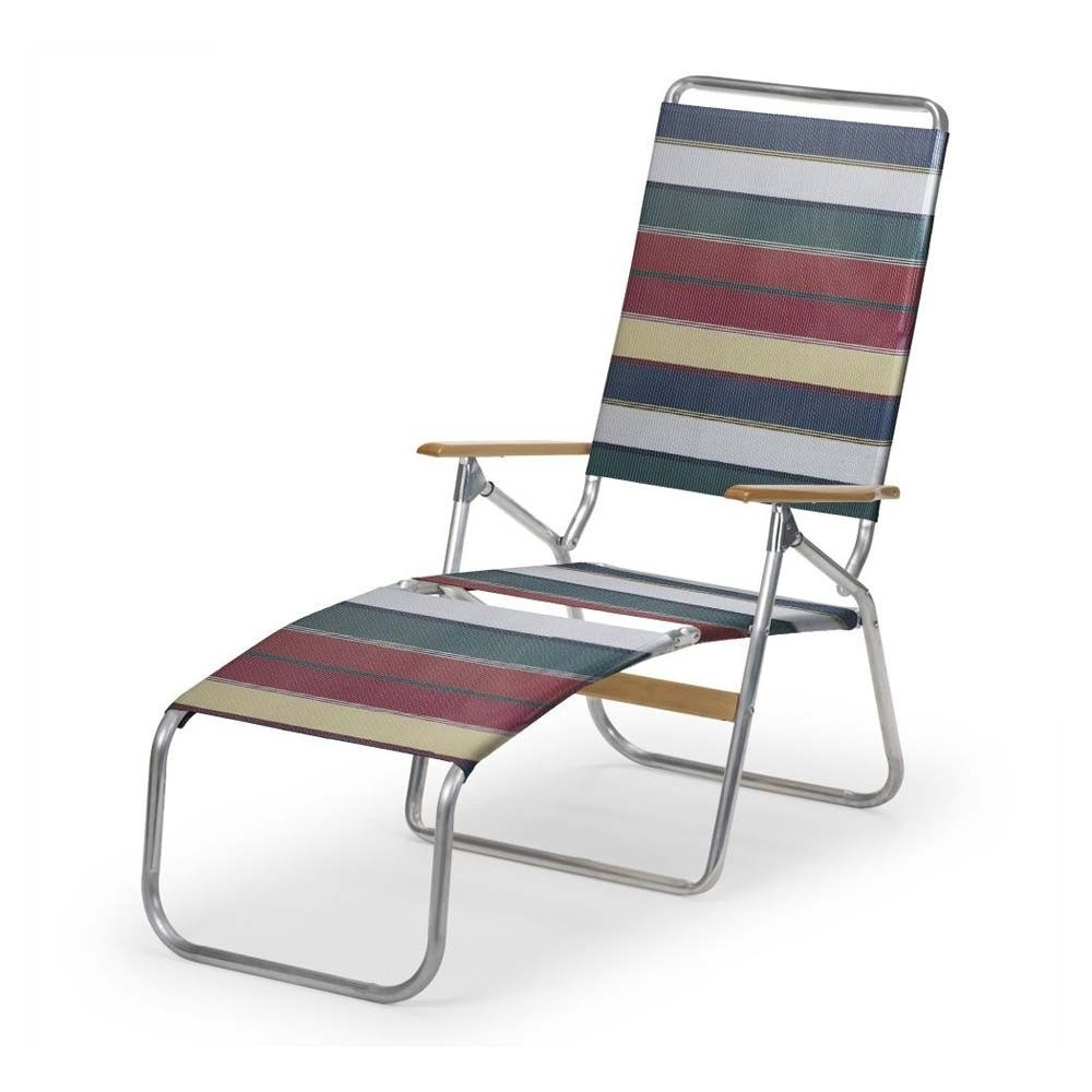 Nice Folding Chaise Lounge Chair With Folding Chaise Lounge Lawn Throughout Newest Folding Chaise Lounge Lawn Chairs (View 11 of 15)