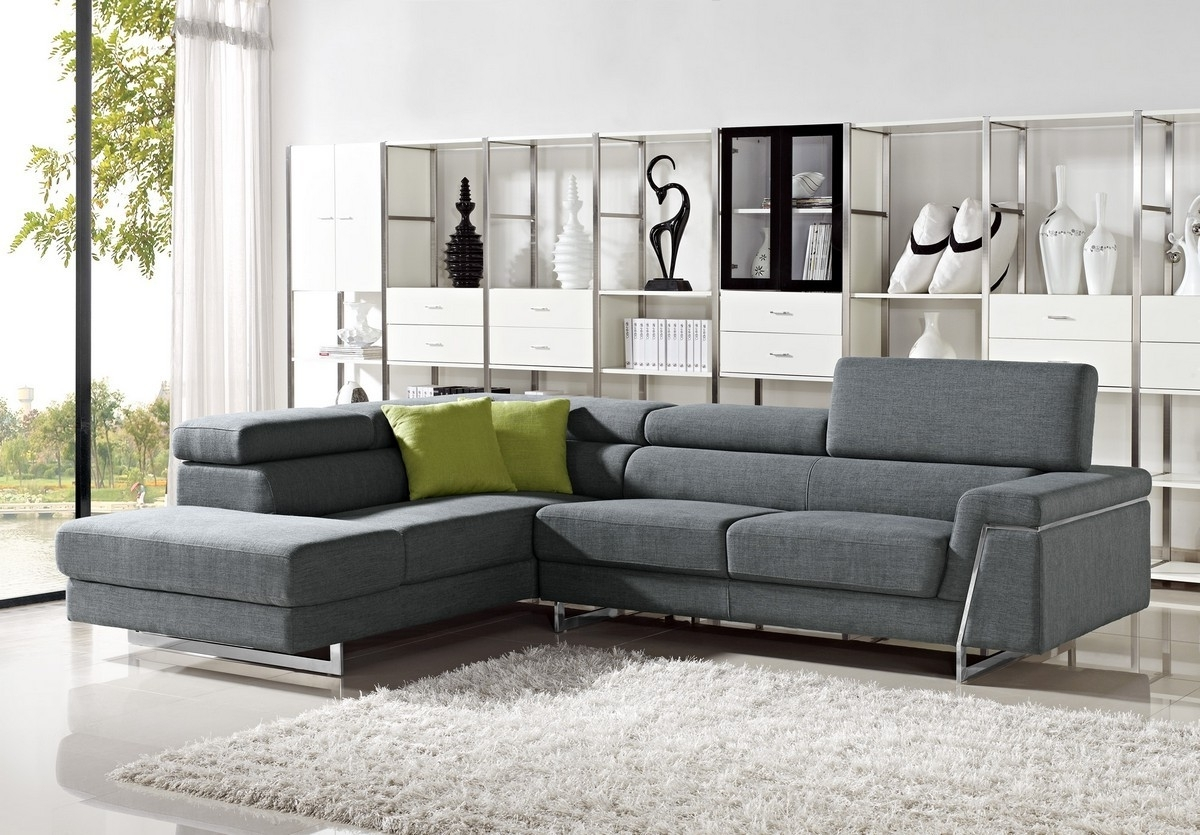Nj Sectional Sofas Inside Current Casa Darby – Modern Fabric Sectional Sofa Set (View 8 of 15)