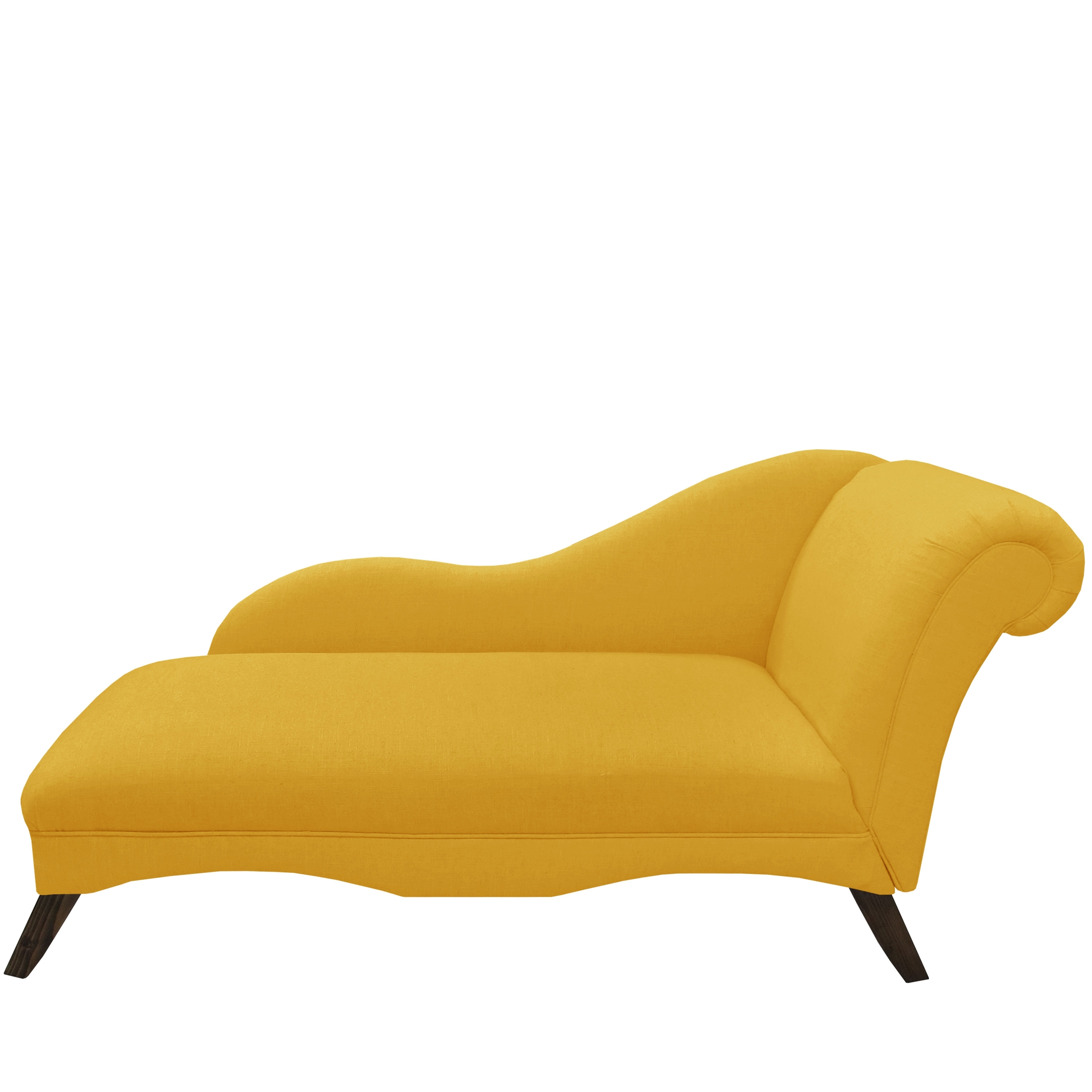 Nonsensical Modern Chaise – Home Designing Throughout Preferred Yellow Chaise Lounge Chairs (View 4 of 15)