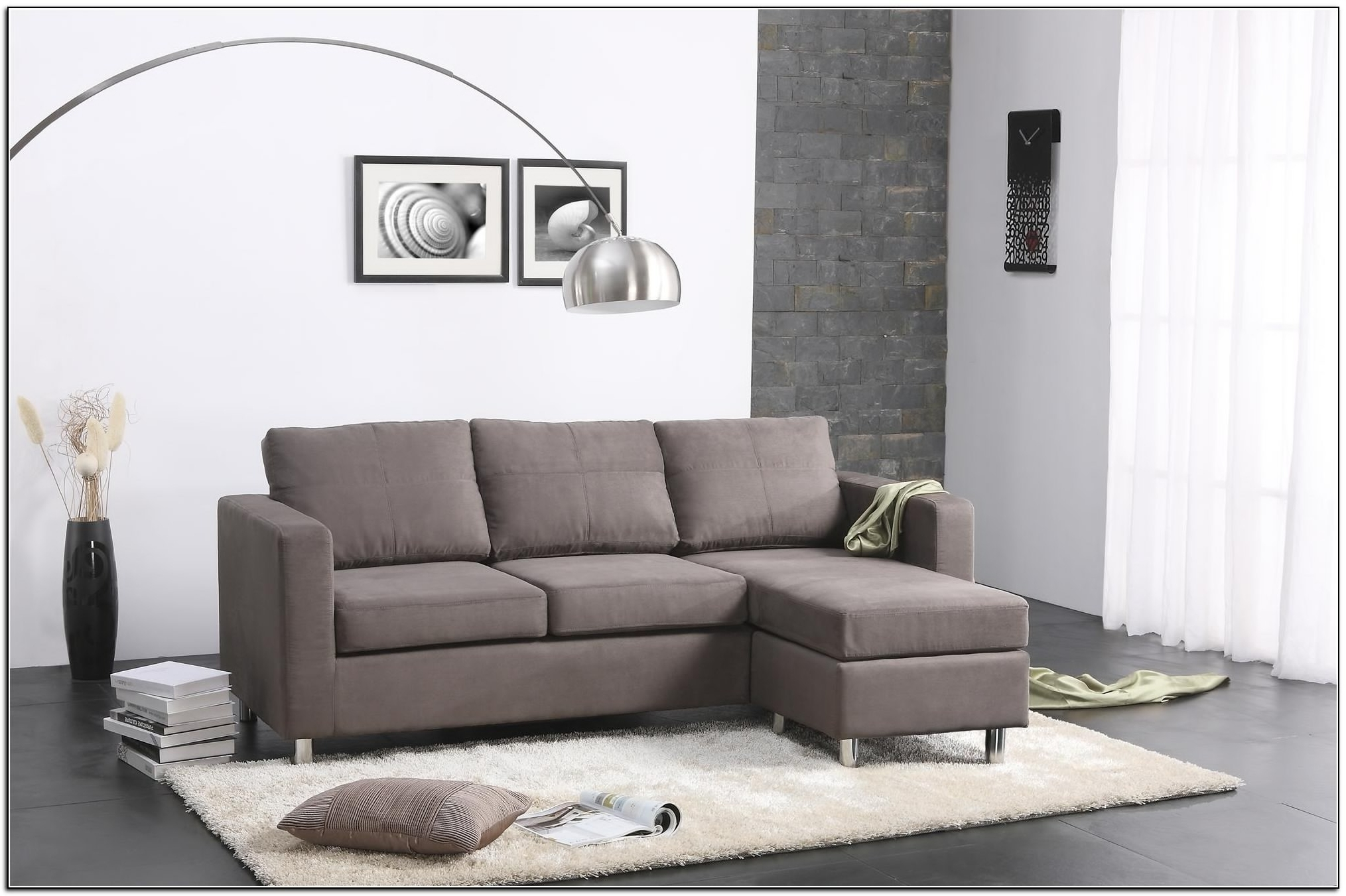North Carolina Sectional Sofas For Best And Newest Sectional Sofa Design: Small Sectional Sofa Cheap Space Couch (View 11 of 15)