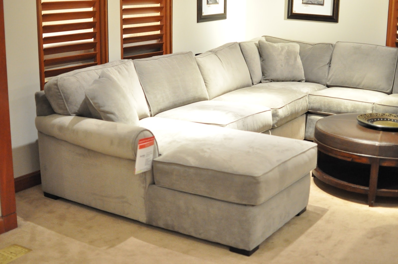 Not So Newlywed Mcgees: Shopping For A Sectional Pertaining To Most Up To Date Macys Leather Sectional Sofas (View 15 of 15)