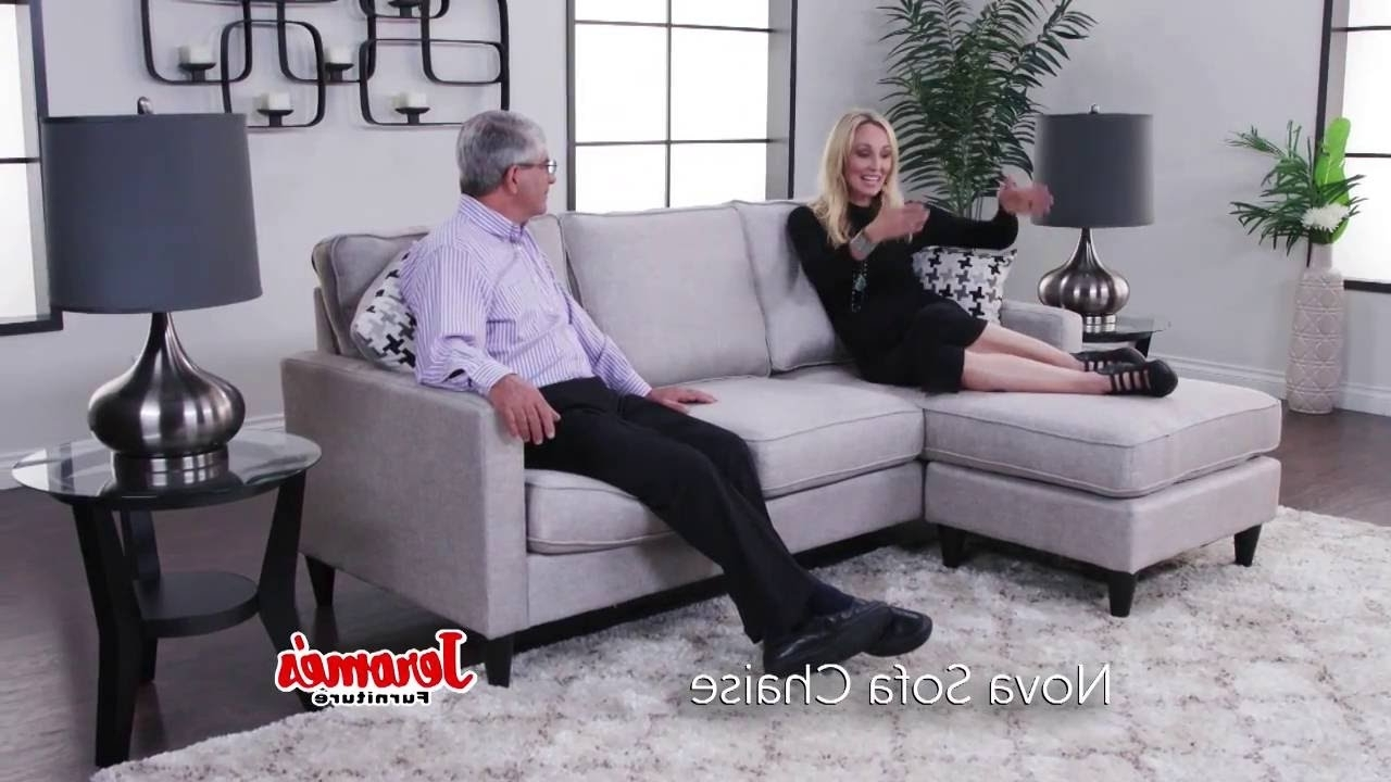 Nova Sectional – Youtube Regarding Jerome's Sectional Sofas (View 7 of 15)