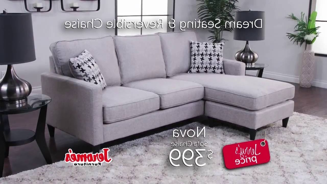 Nova Sectional – Youtube With Regard To Jerome's Sectional Sofas (View 11 of 15)