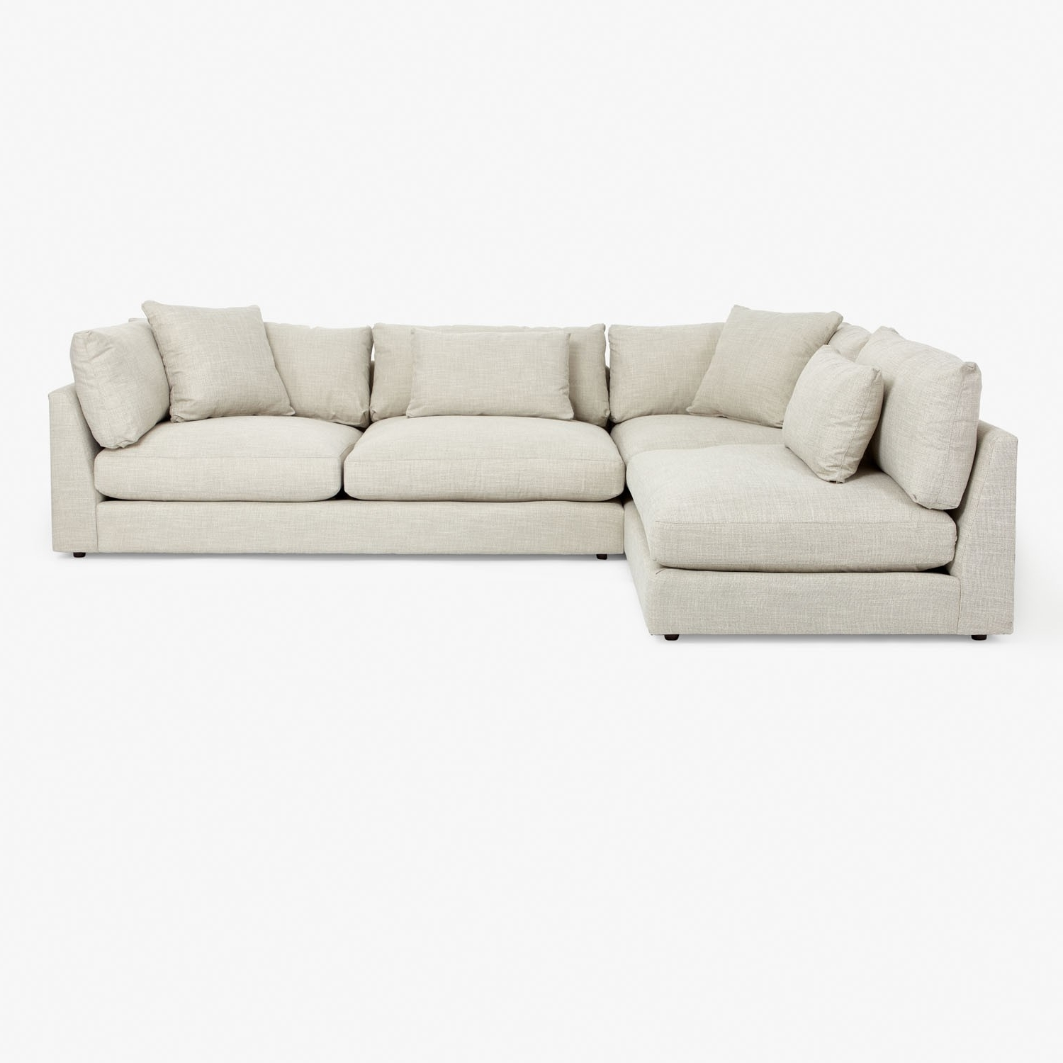 Nyc Sectional Sofas Regarding Famous Modern Sectional Sofas For Nyc Apartments At Abc Home (View 7 of 15)