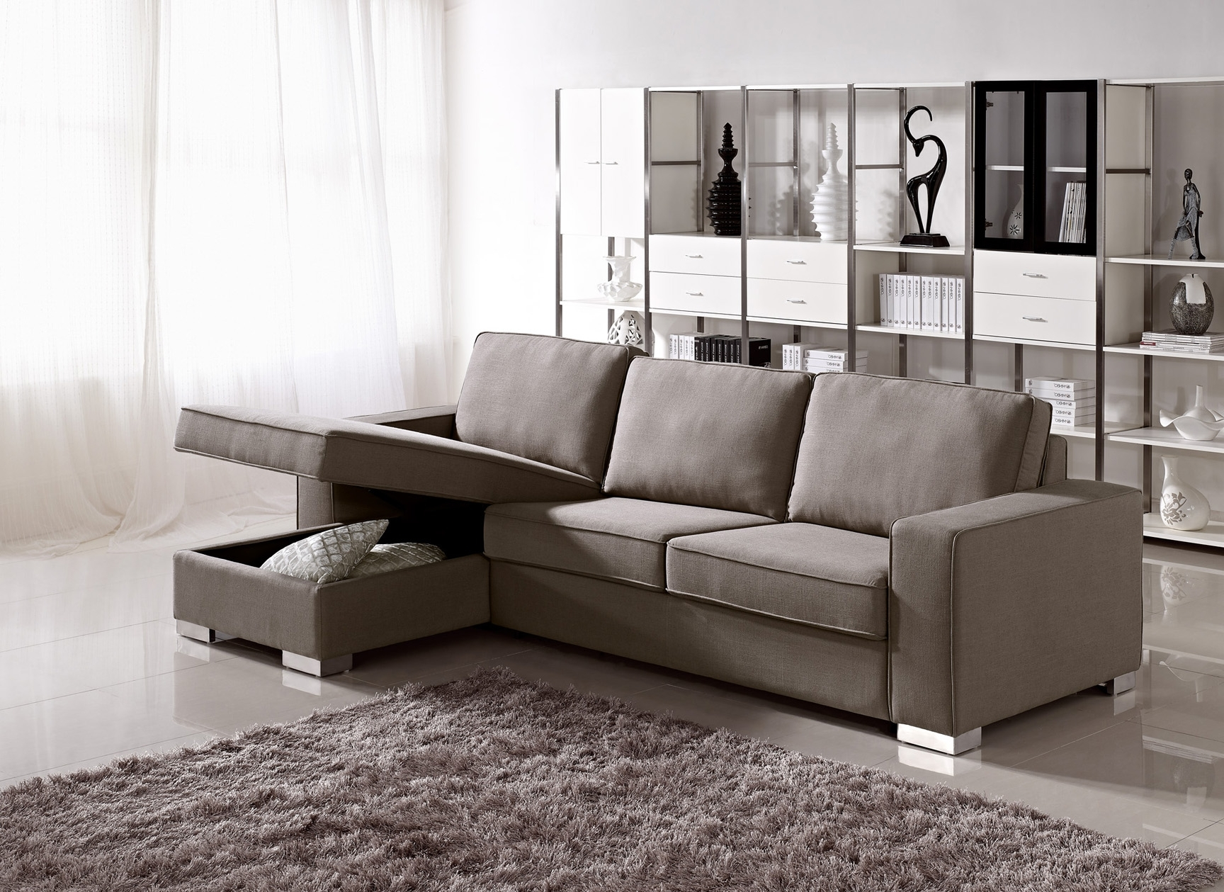 Nyc Sectional Sofas Within Recent Living Room Furniture Storage Modular Sofa With Thesofa Modern (View 3 of 15)