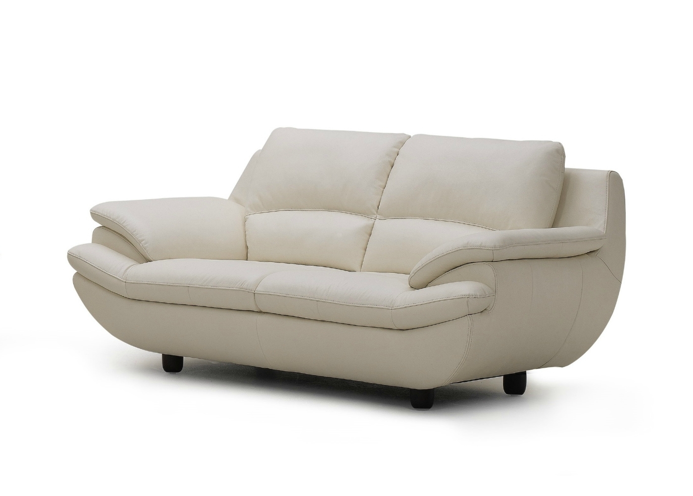 Off White Leather Sofas In Recent Plush Leather Sofa In Off White – Not Just Brown (View 8 of 15)
