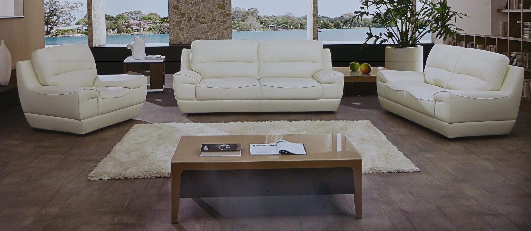 Off White Leather Sofas Throughout Favorite Sofa: Designs White Sofa And Loveseat White Fabric Sofa, White (View 5 of 15)