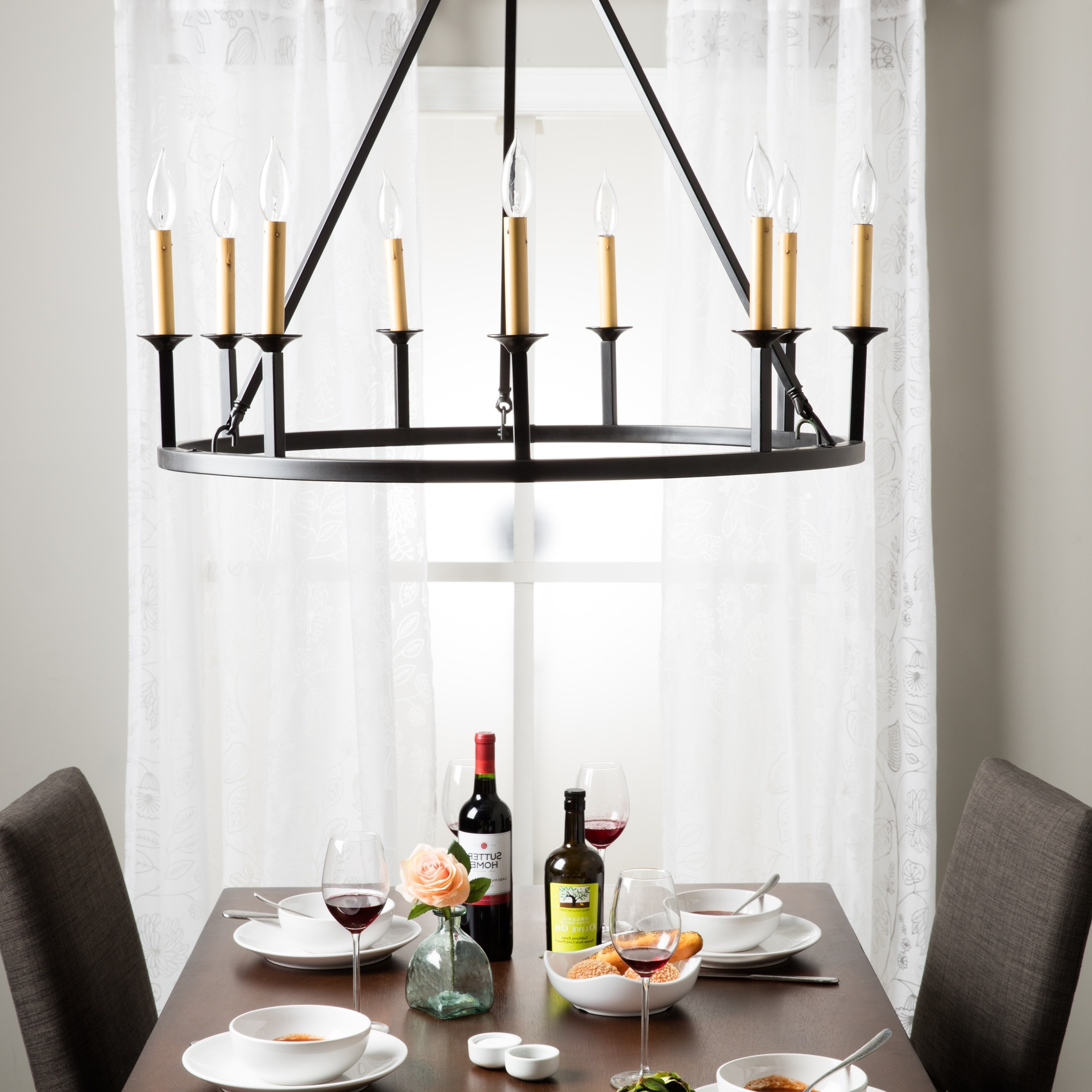 Featured Photo of Candle Light Chandelier