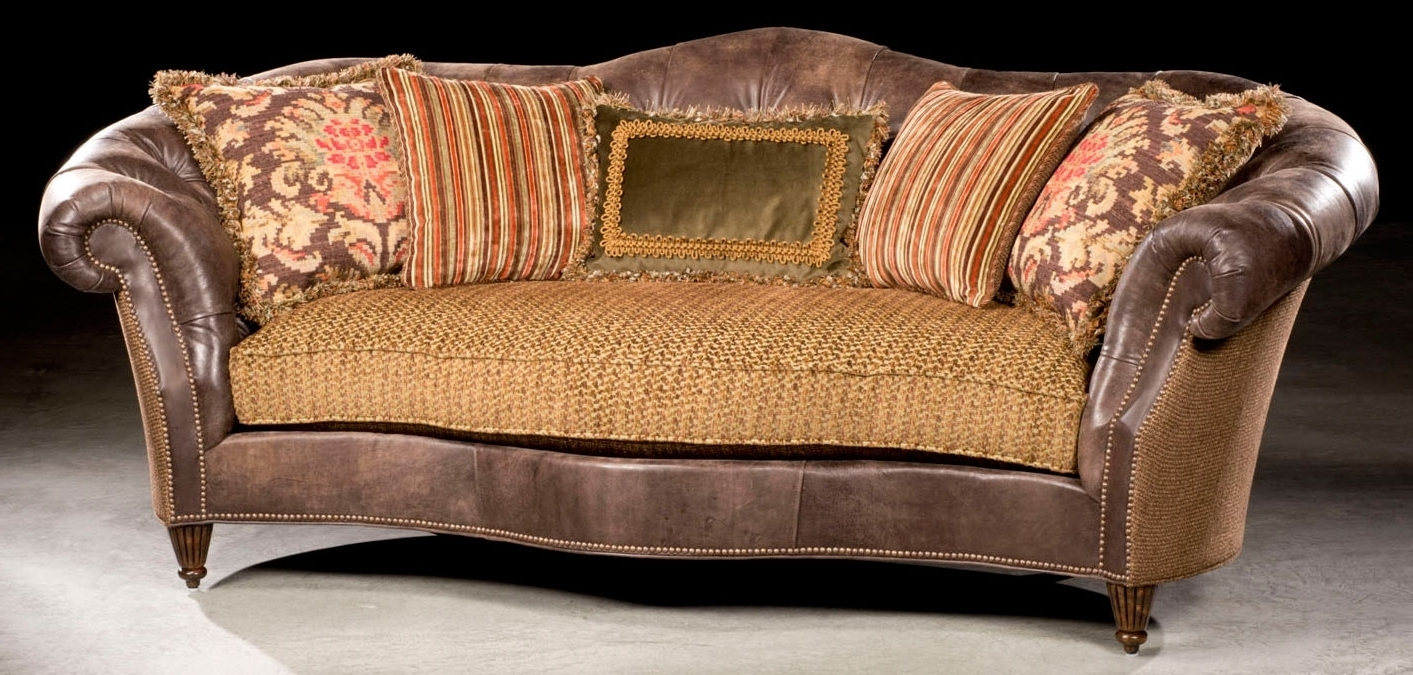 One Cushion Sofas With Regard To Most Up To Date Single Cushion Sofa. Tufted Leather In Back (View 7 of 15)