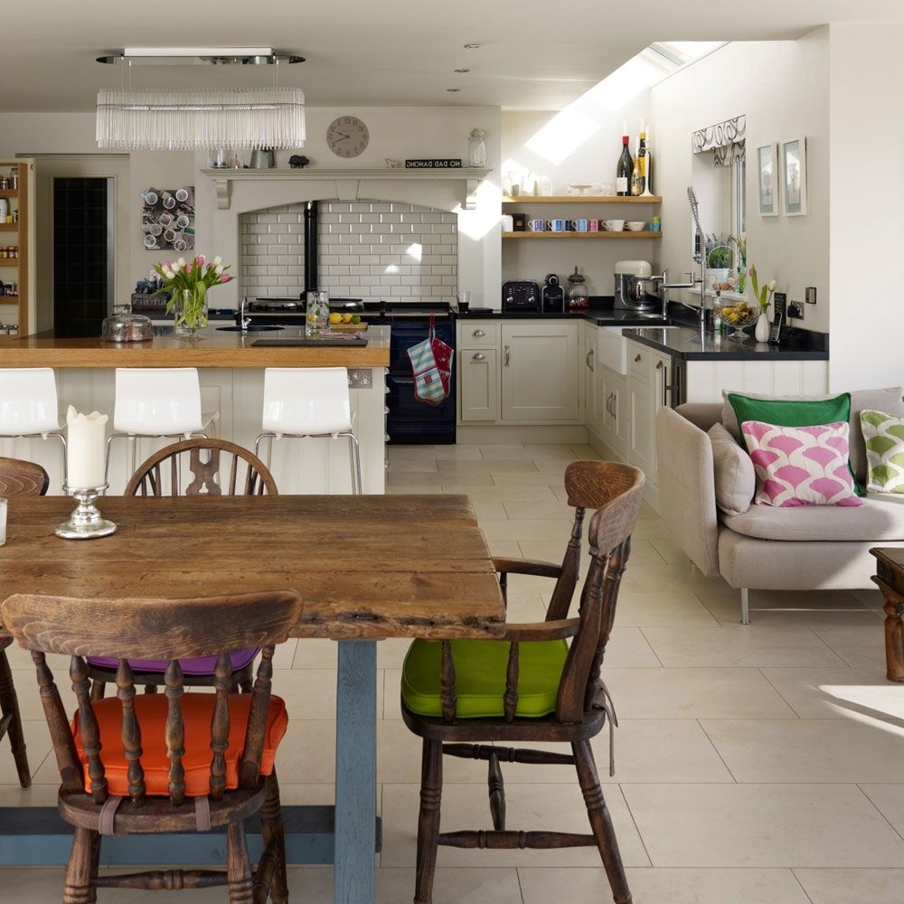 Open Plan Kitchen Diner, Open Plan Inside Sofas For Kitchen Diner (View 14 of 15)