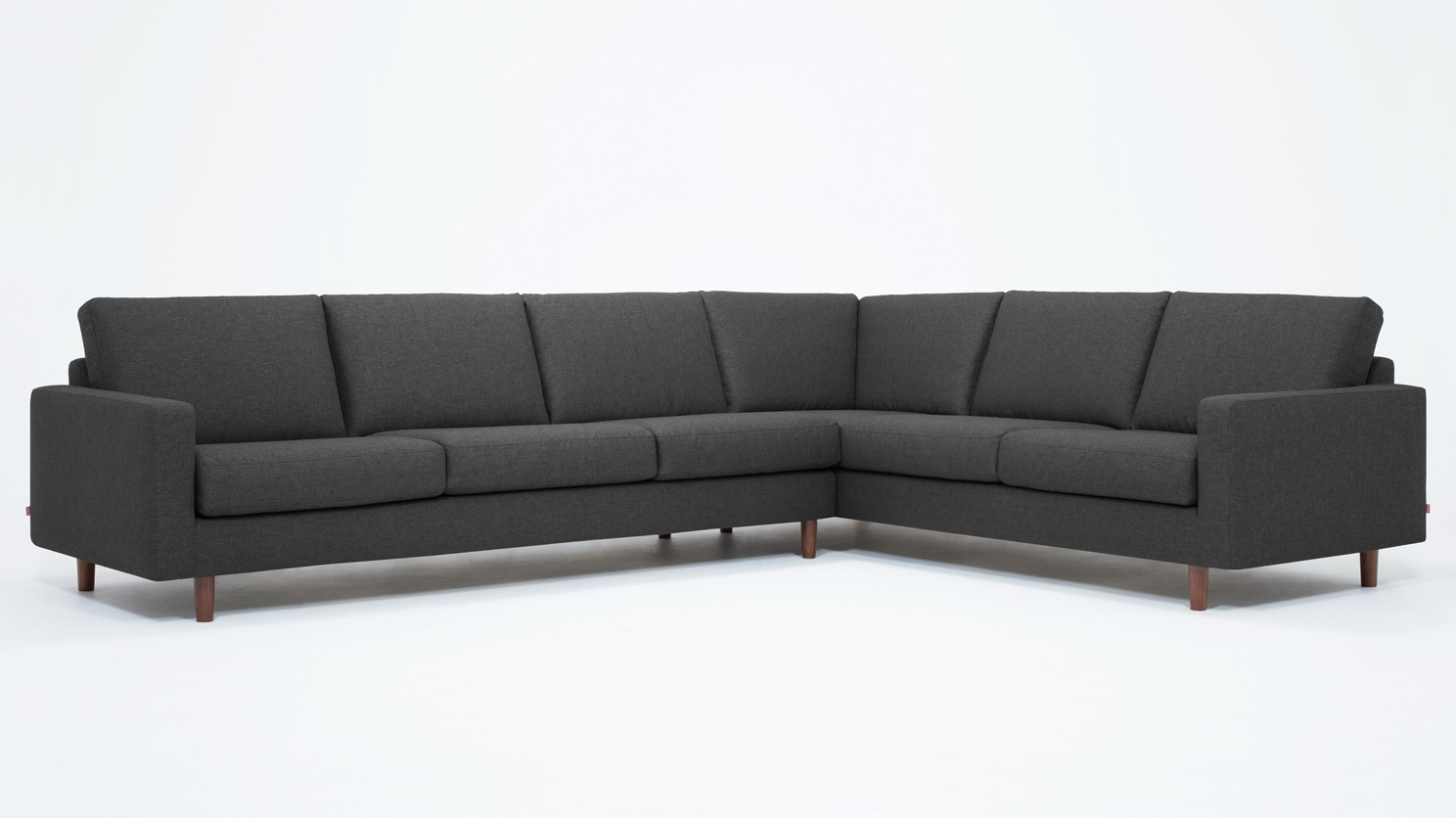 Oskar 2 Piece Sectional Sofa – Fabric With Eq3 Sectional Sofas (View 7 of 15)