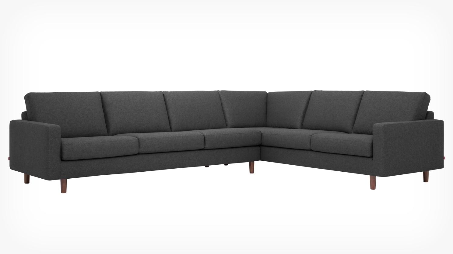 Oskar 2 Piece Sectional Sofa – Fabric (View 6 of 15)