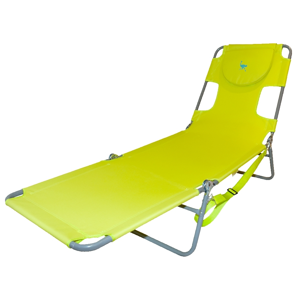 Ostrich Folding Chaise Lounge Chair (View 7 of 15)