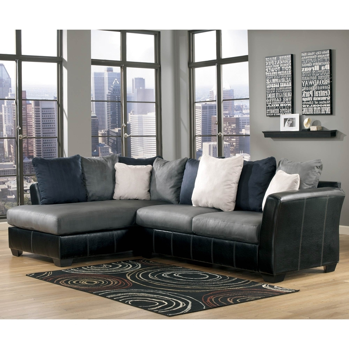 Ottawa Sectional Sofas In Favorite Ashley Sectional Sofa With Chaise – Hotelsbacau (View 11 of 15)