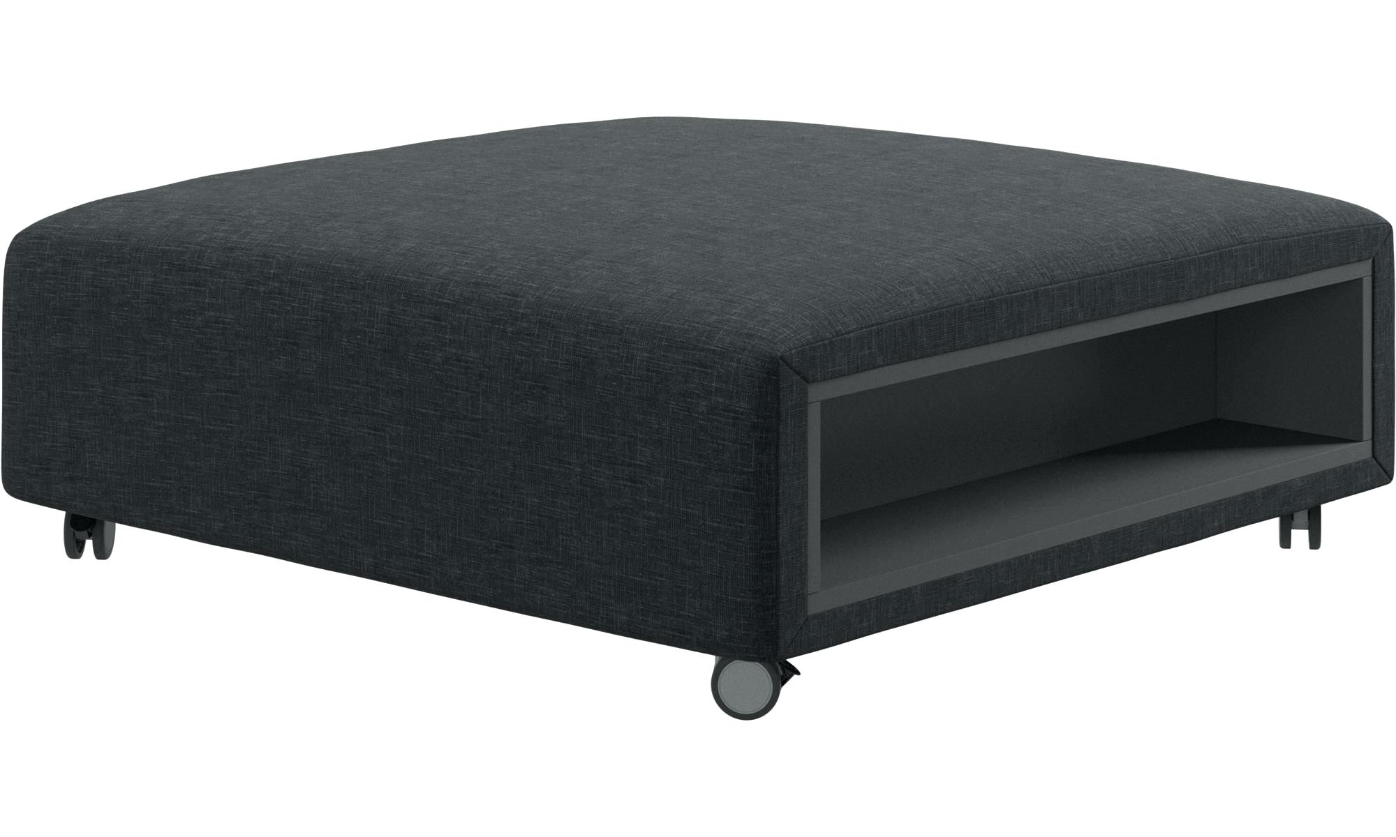 Ottoman With Wheels Ottomans Pouf On Wheels With Storage Left And In Most Recent Ottomans With Wheels (View 11 of 15)