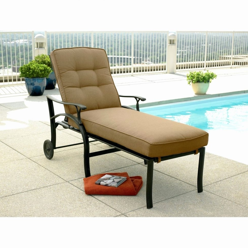 Outdoor Chaise Lounges Within Popular Lounge Chair : Lounge Furniture Metal Chaise Lounge Chair Cheap (View 14 of 15)