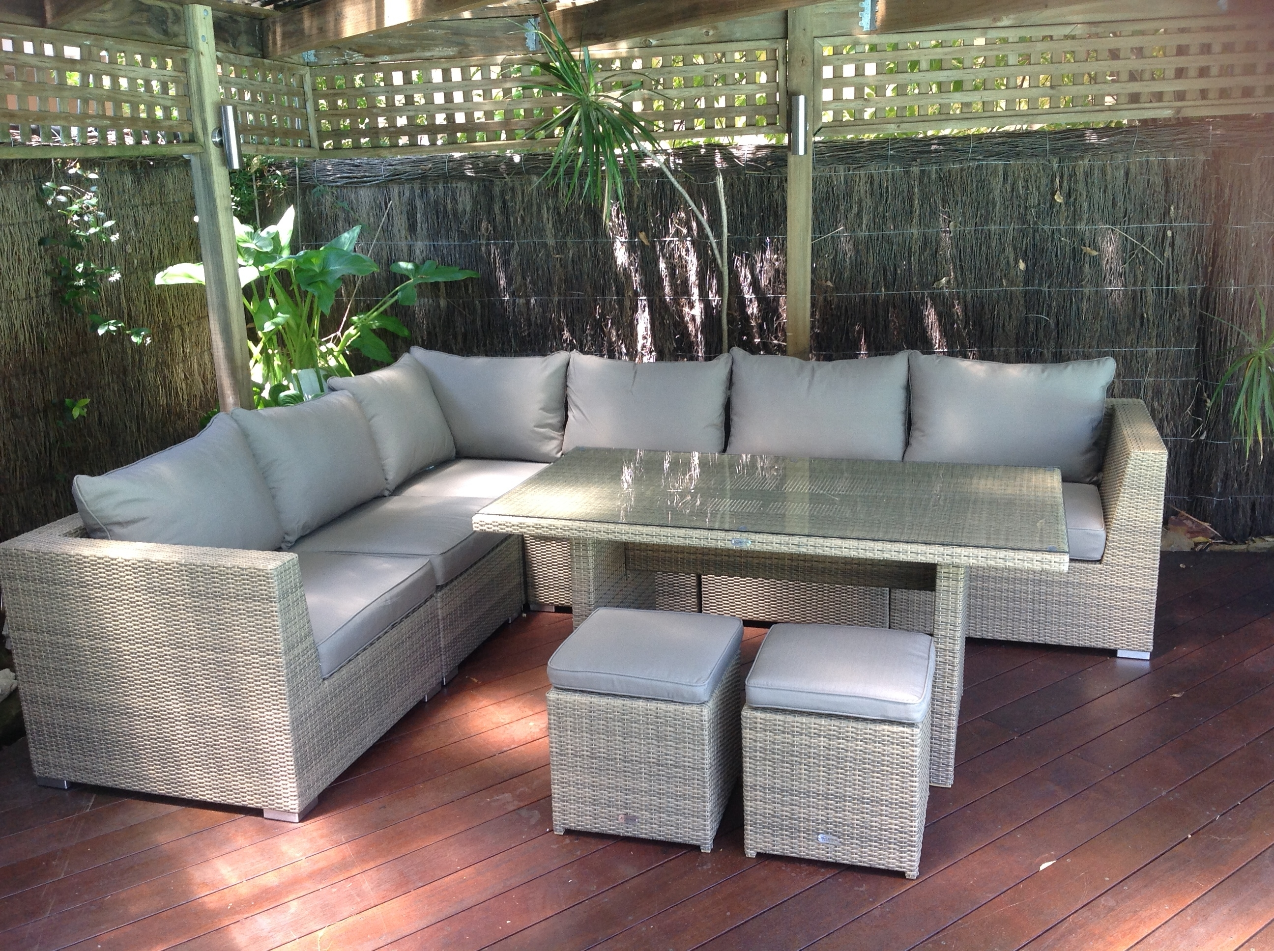 Outdoor Furniture Evolution – Dining Out In Comfort Regarding Preferred Chaise Lounge Sets (View 11 of 15)
