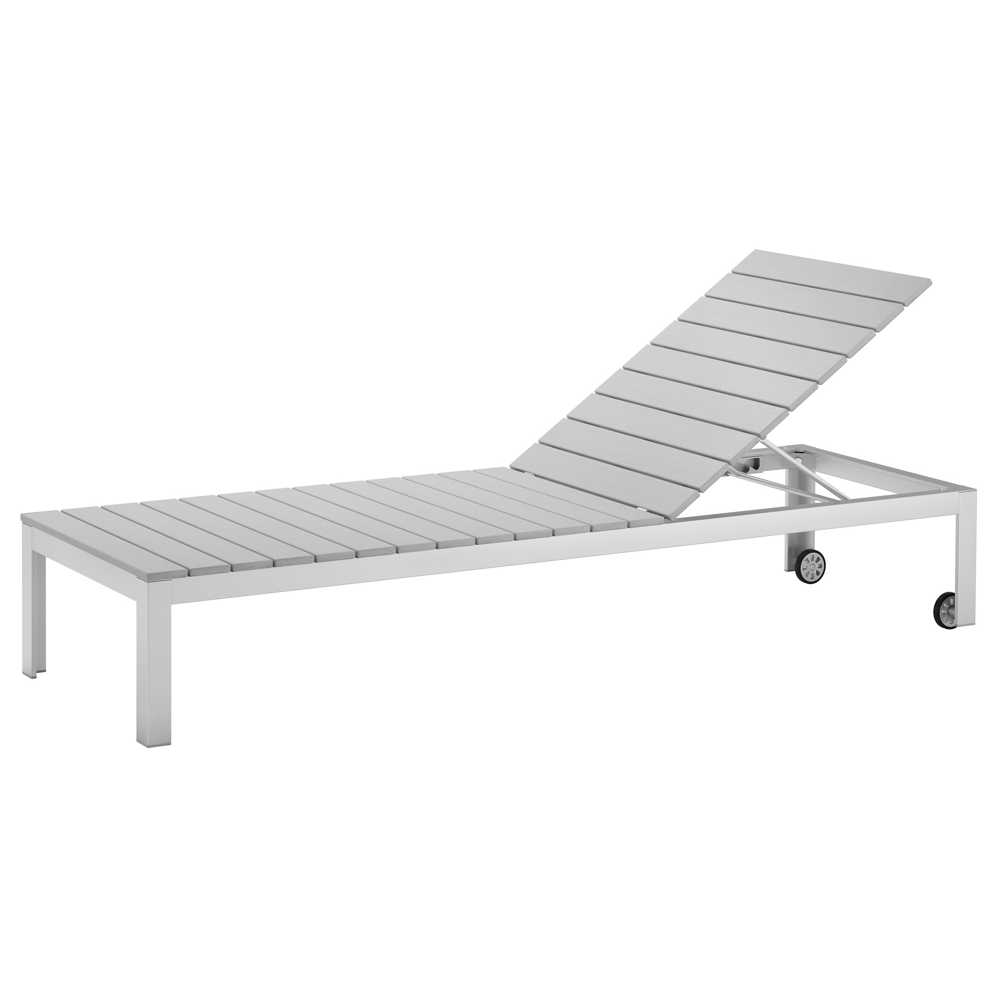 Outdoor Ikea Chaise Lounge Chairs Pertaining To Widely Used Ikea – Falster, Chaise, Gray, , , The Back Can Be Adjusted To Six (Gallery 2 of 15)