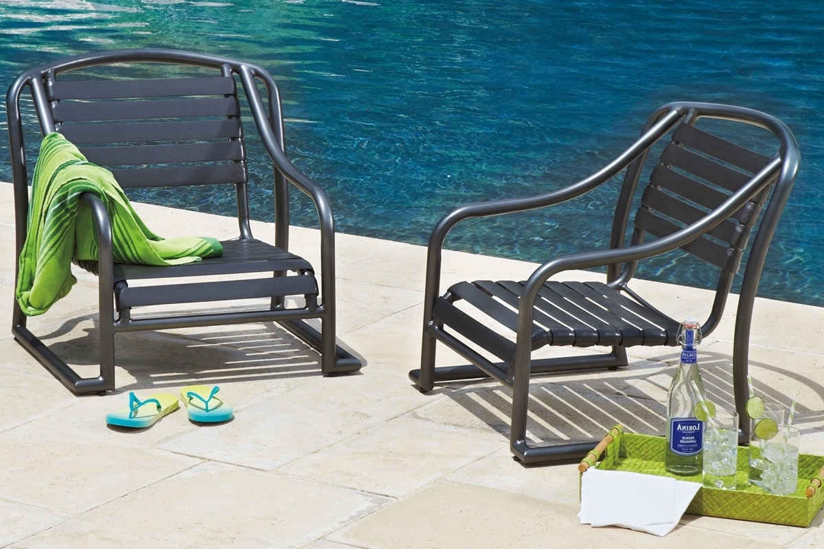 Outdoor Living Inside Most Recently Released Chaise Lounge Strap Chairs (View 13 of 15)
