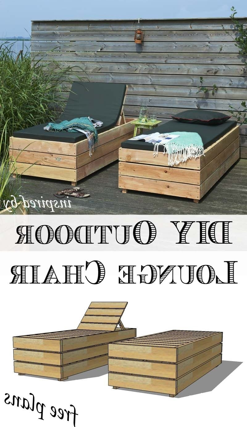 Outdoor Lounge Regarding Popular Diy Outdoor Chaise Lounge Chairs (View 9 of 15)