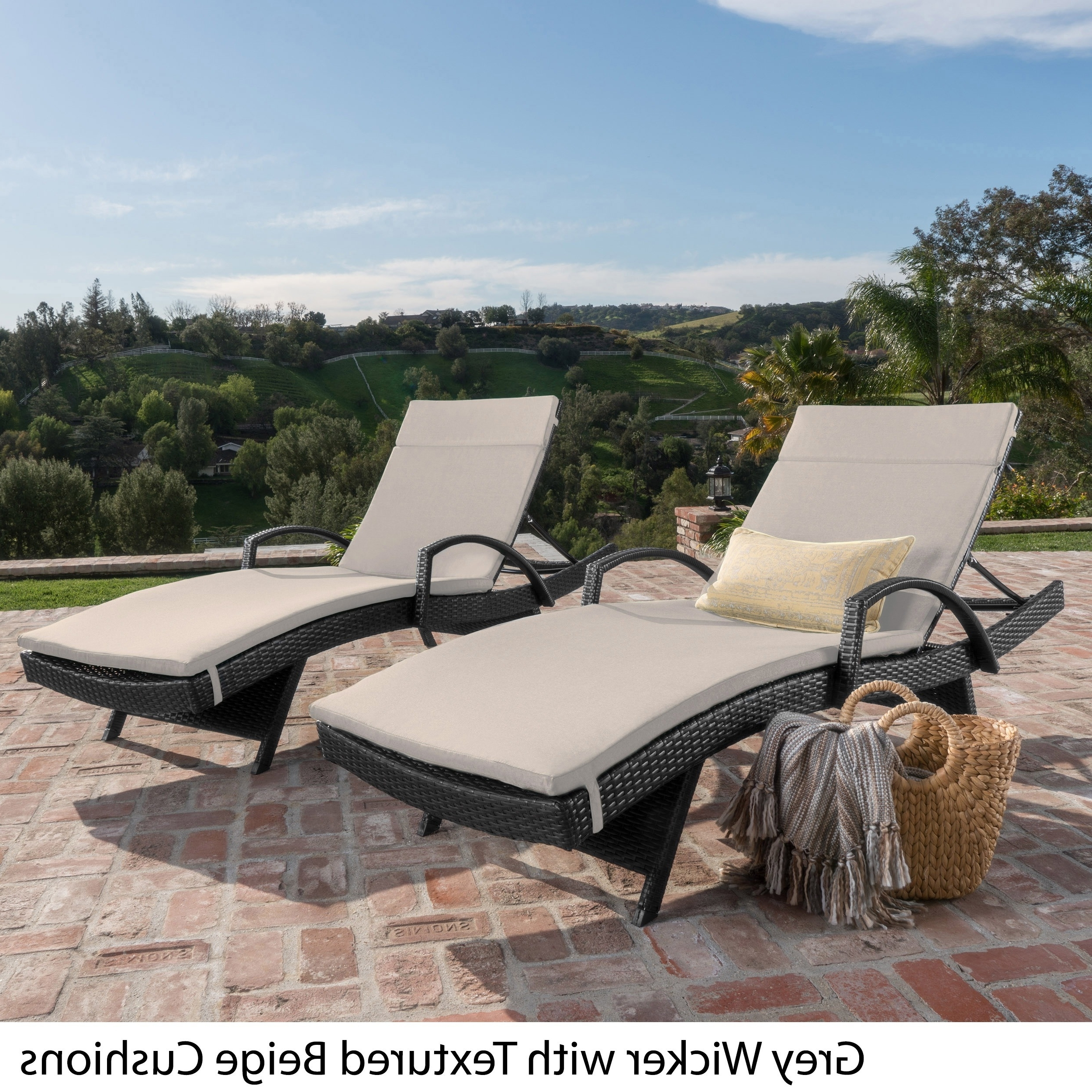 Outdoor : Lowes Chaise Lounge Indoor Outdoor Chaise Lounge Chairs For Recent Hotel Pool Chaise Lounge Chairs (View 7 of 15)