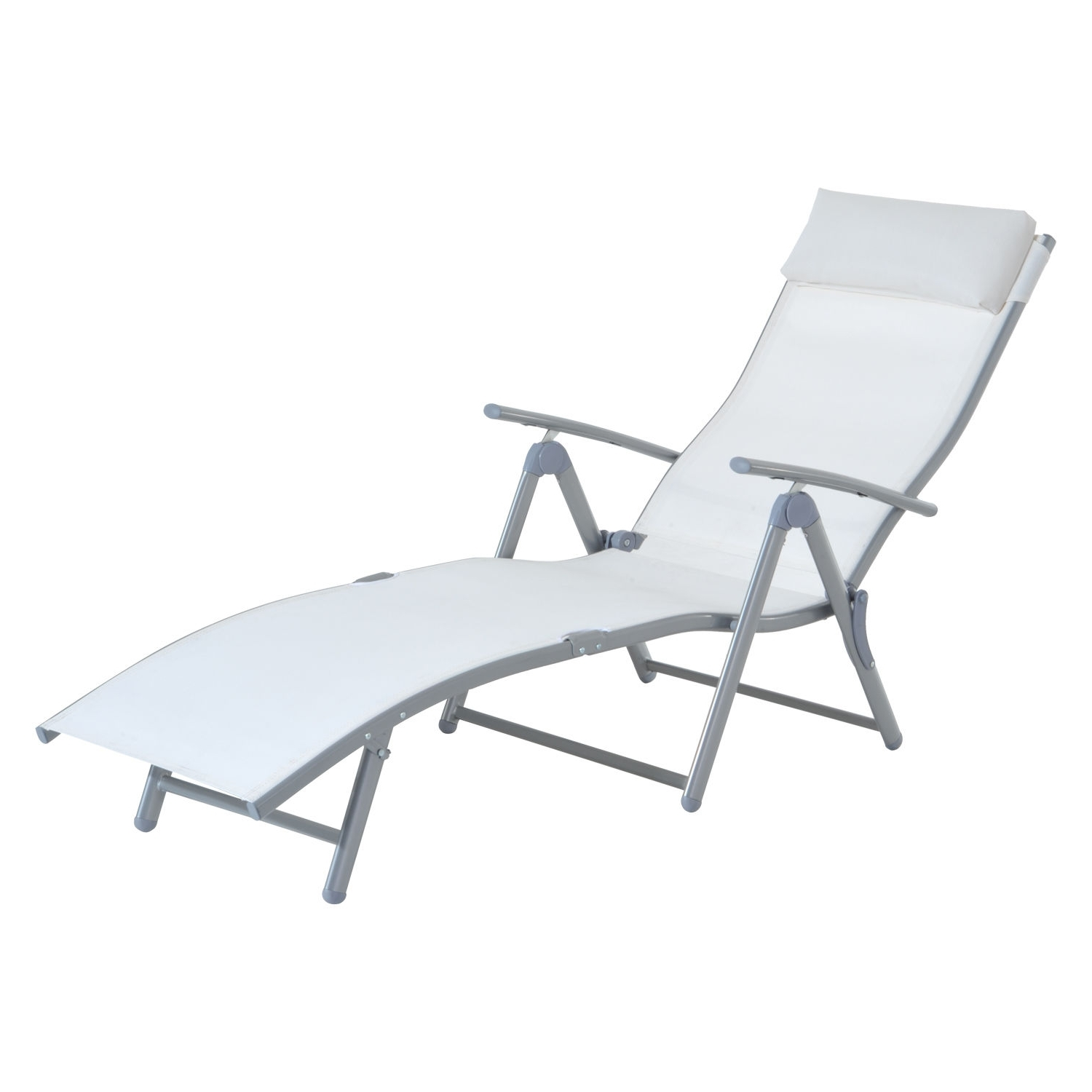 Outdoor : Lowes Chaise Lounge Indoor Outdoor Chaise Lounge Chairs With Regard To Newest Vinyl Strap Chaise Lounge Chairs (View 6 of 15)