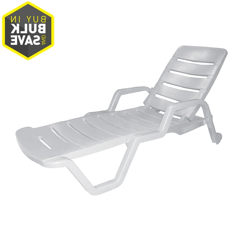 Outdoor : Lowes Chaise Lounge White Outdoor Chaise Lounge Outdoor Inside Most Popular White Outdoor Chaise Lounges (View 6 of 15)