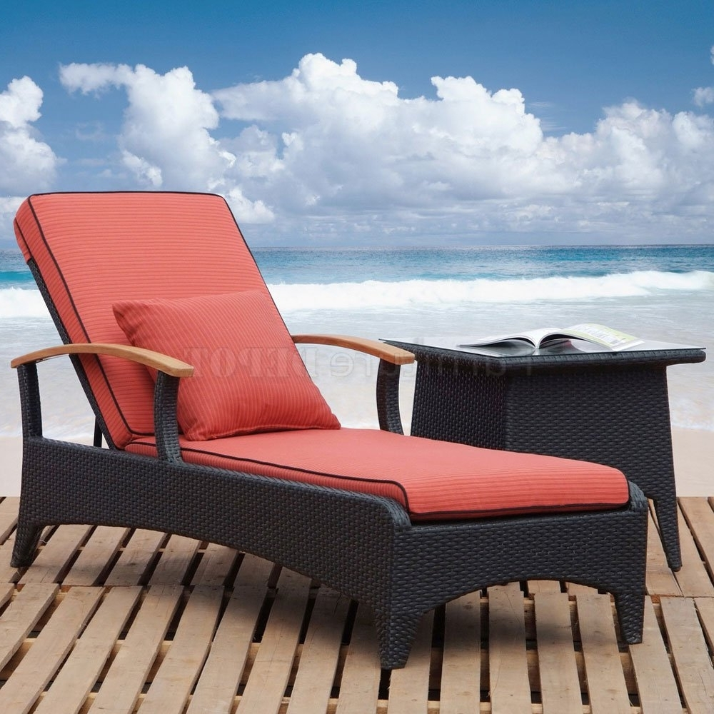 Outdoor : Vinyl Strap Chaise Lounge Outdoor Furniture Plastic For Trendy Outdoor Pool Chaise Lounge Chairs (View 8 of 15)