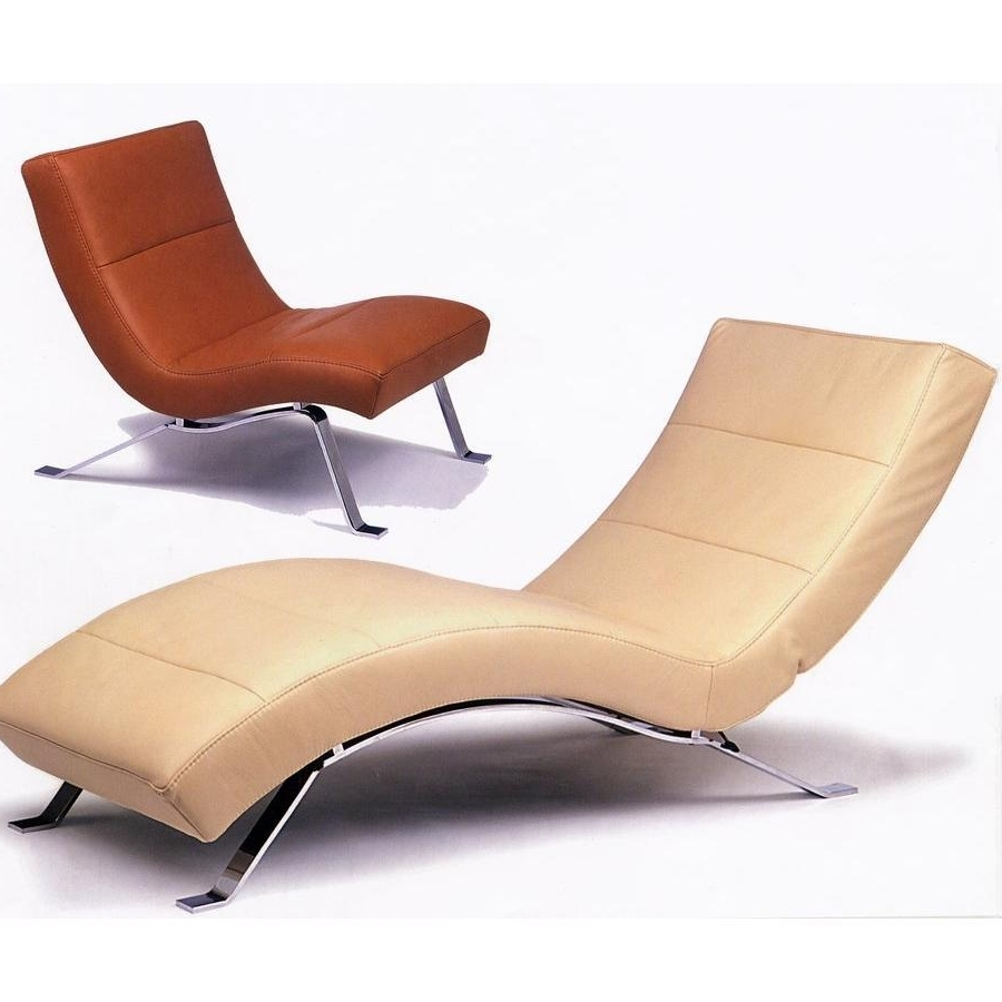Outstanding Curved Chaise Lounge Chair Pictures Decoration Ideas Throughout Recent Curved Chaise Lounges (View 7 of 15)