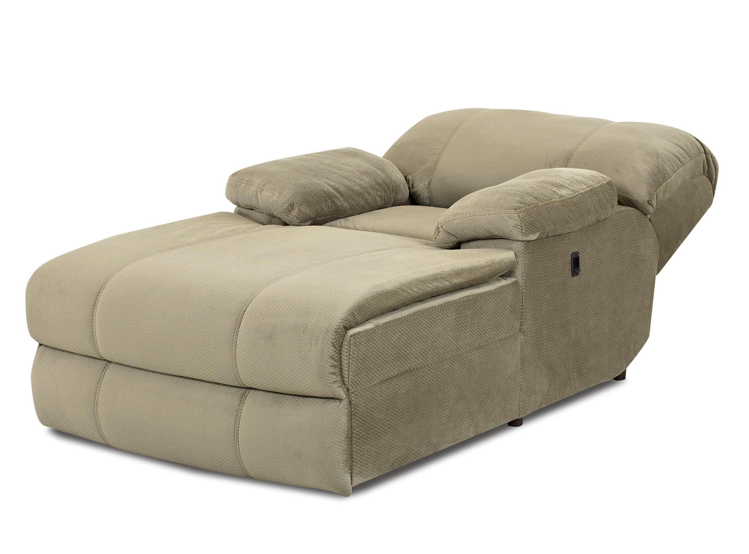 Oversized Double Chaise Lounge Chair (View 11 of 15)