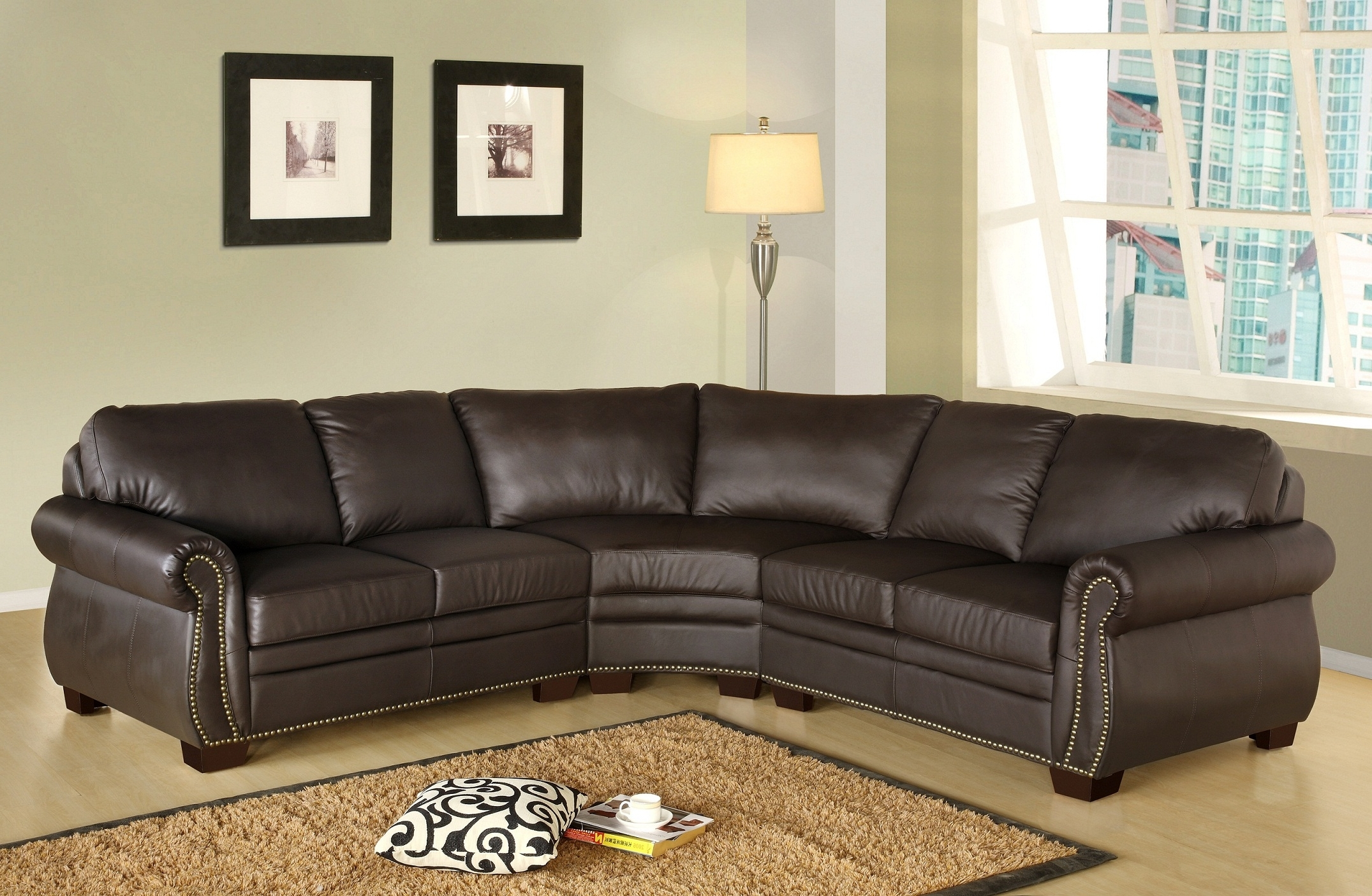 Overstock Credit Card Sectional Couch Ikea Wayfair Coupon Ethan Intended For Popular Abbyson Sectional Sofas (View 14 of 15)