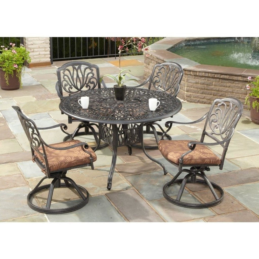 Overstock Outdoor Chaise Lounge Chairs In Latest High Back Swivel Patio Chairs Outdoor Pool Swivel Dining Chairs (View 6 of 15)