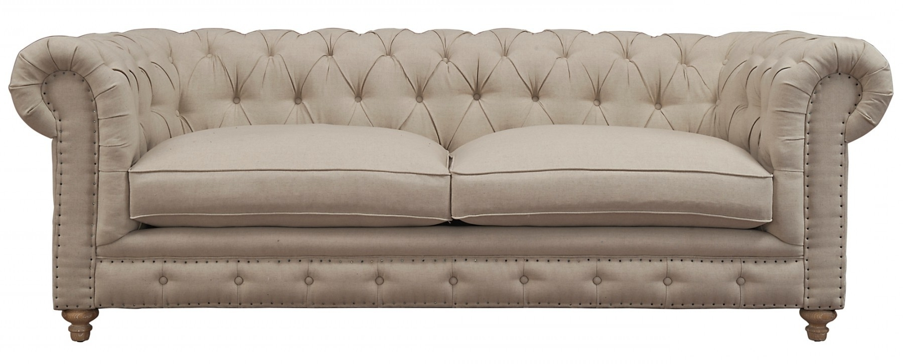 Oxford Beige Linen Sofatov Furniture Buy Online At Best Price Intended For Most Current Oxford Sofas (View 4 of 15)