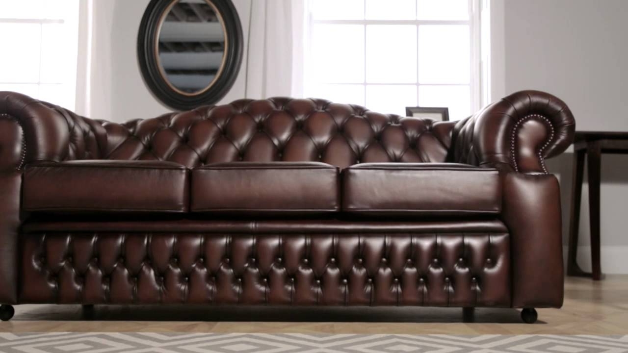 Oxford Chesterfield Sofa From Sofassaxon – Youtube Within Most Recently Released Oxford Sofas (View 5 of 15)