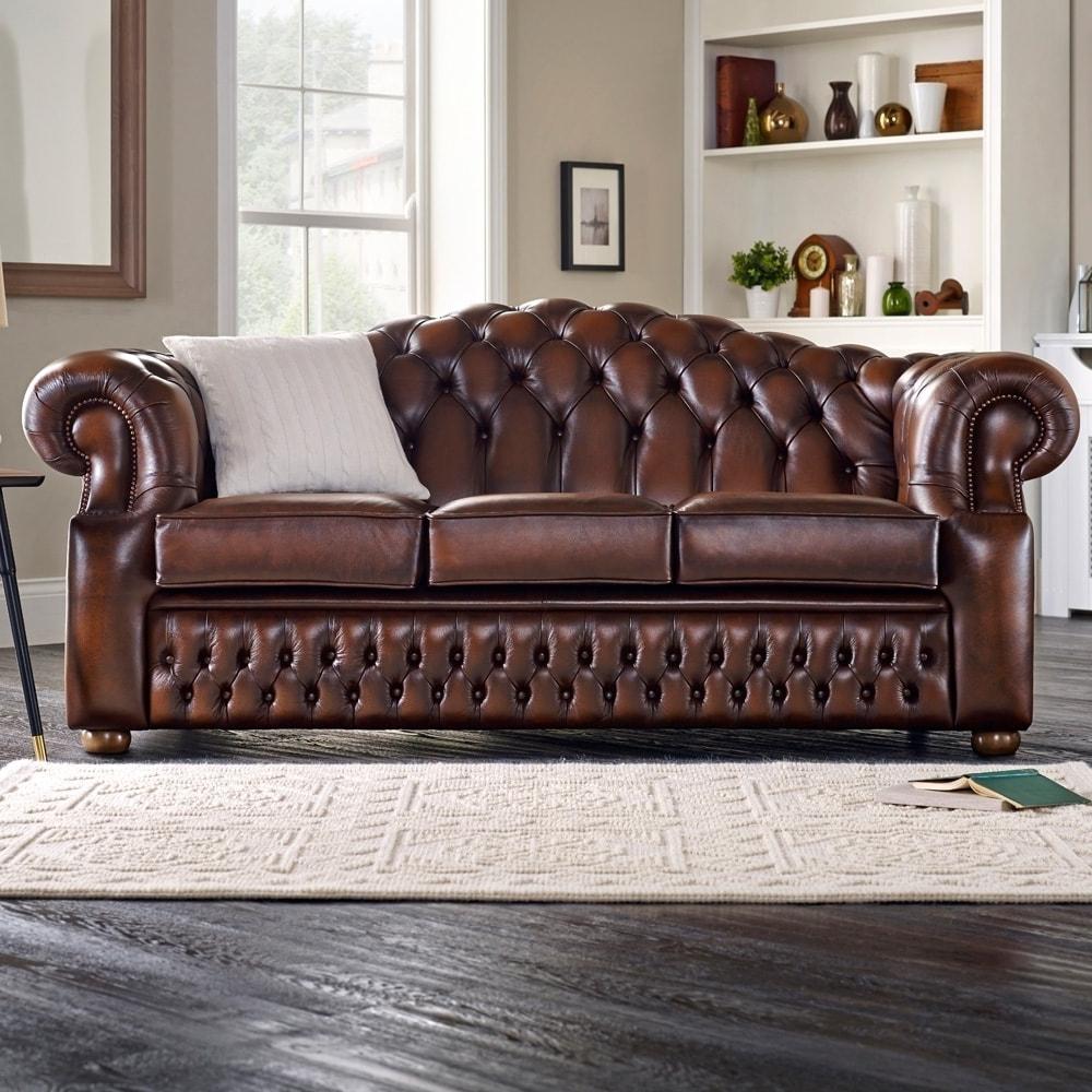 Oxford Sofas Regarding 2017 Oxford 3 Seater Sofa – From Sofassaxon Uk (View 2 of 15)