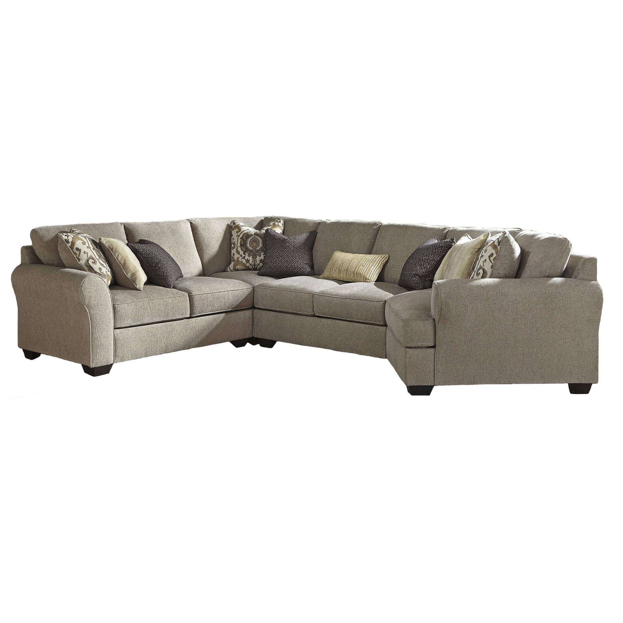 Pantomine Right Hand Facing 4 Piece Sectional (View 11 of 15)