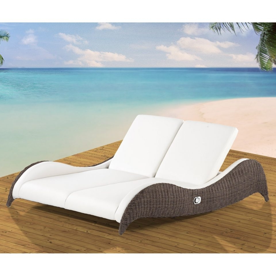 Patio Double Chaise Lounges With Most Current Uncategorized : Patio Double Chaise Lounge With Trendy Chaise (View 12 of 15)