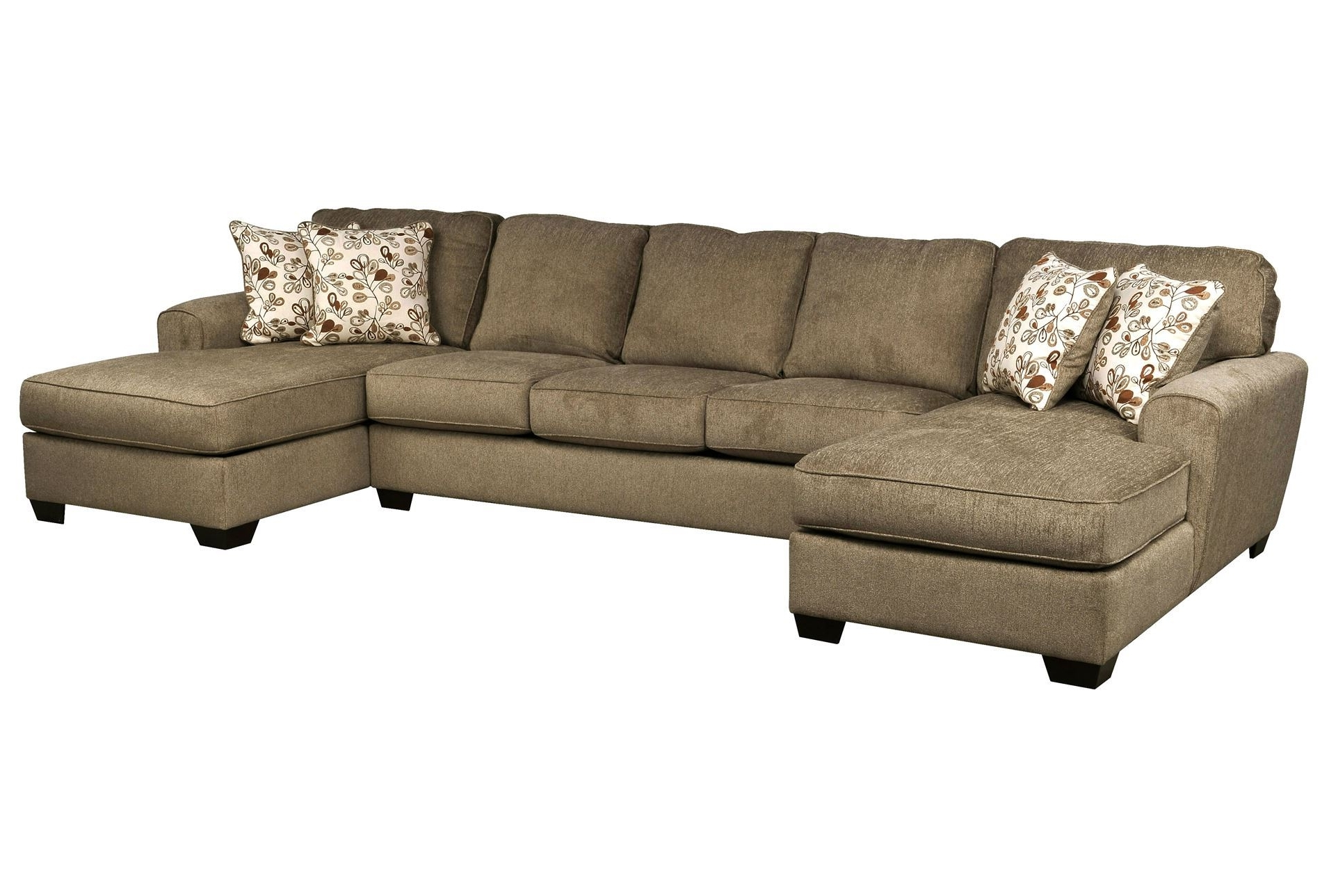 Patola Park 3 Piece Sectional W/2 Corner Chaises (View 6 of 15)