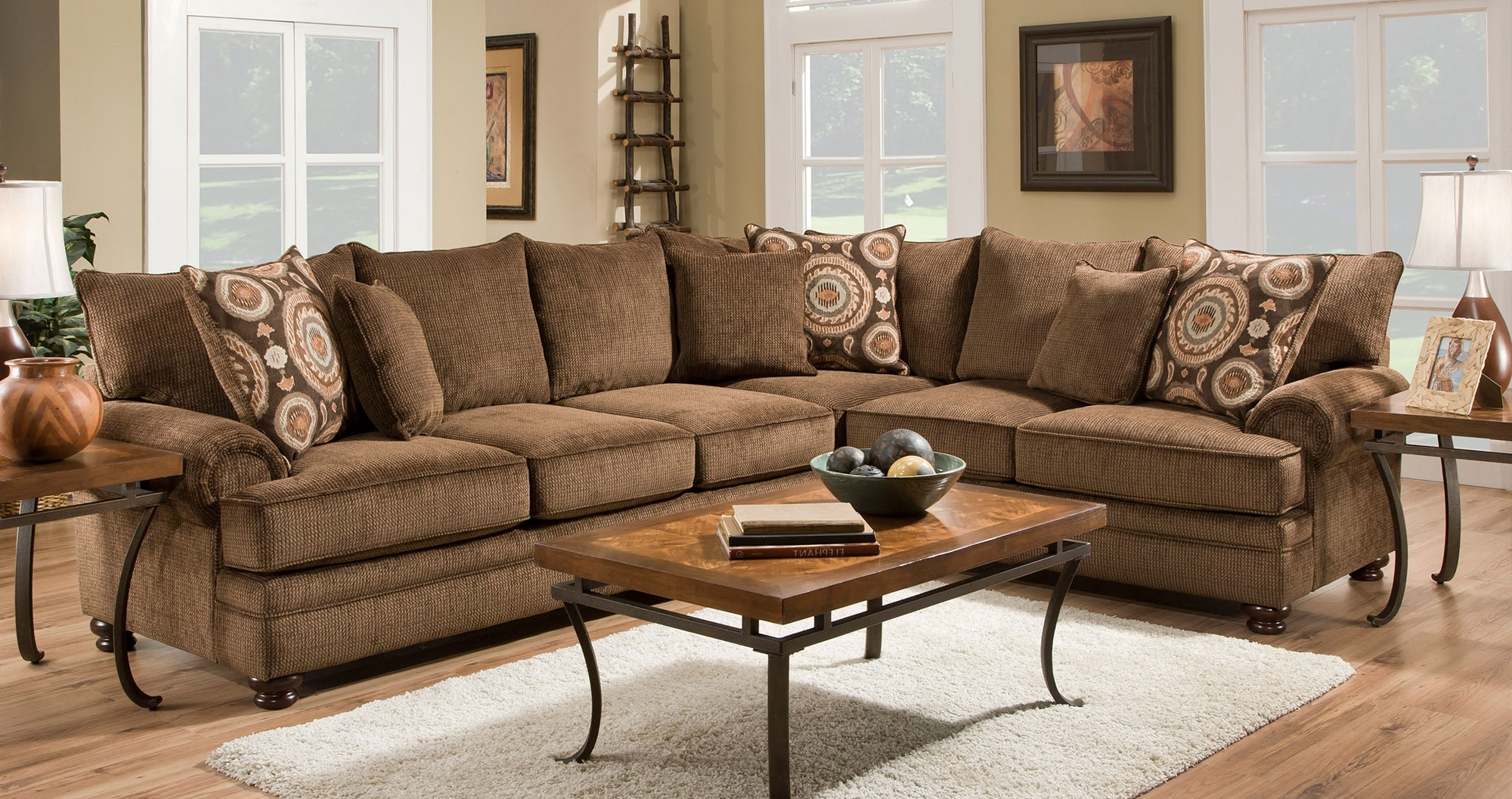 Pc And Traditional For 102X102 Sectional Sofas (View 11 of 15)