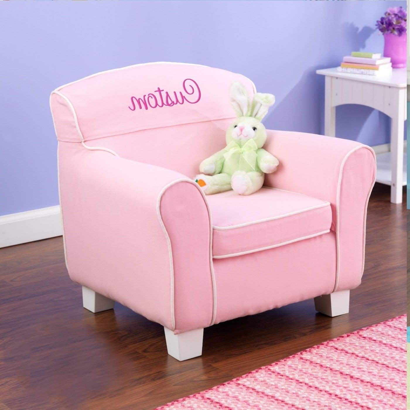 Personalized Kids Chairs And Sofas Inside Recent Baby Lazy Boy Chair Child's Foam Chair Bed Toddler Chair Canada (View 9 of 15)